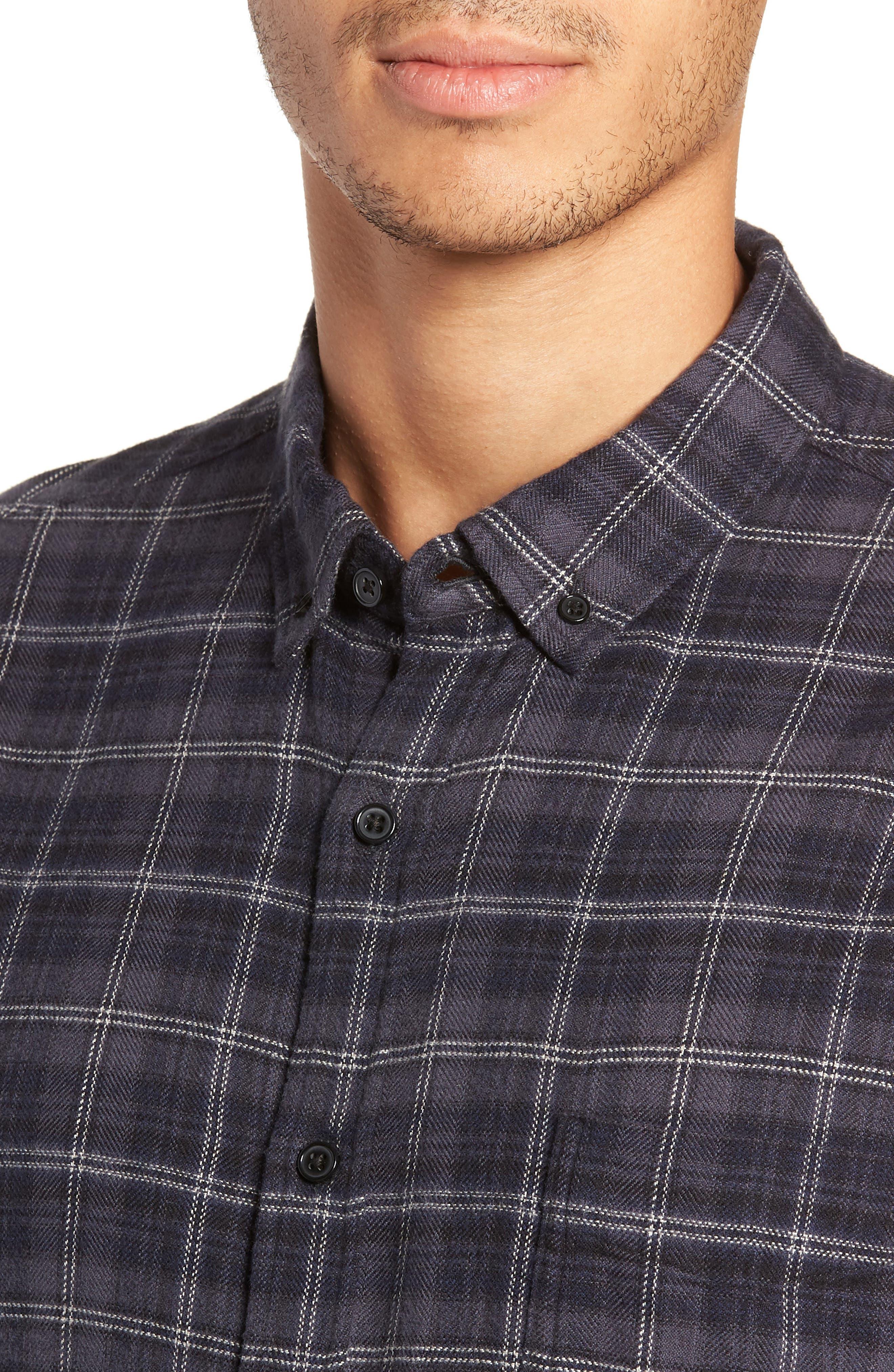 Lennox Regular Fit Plaid Sport Shirt,                             Alternate thumbnail 2, color,                             433