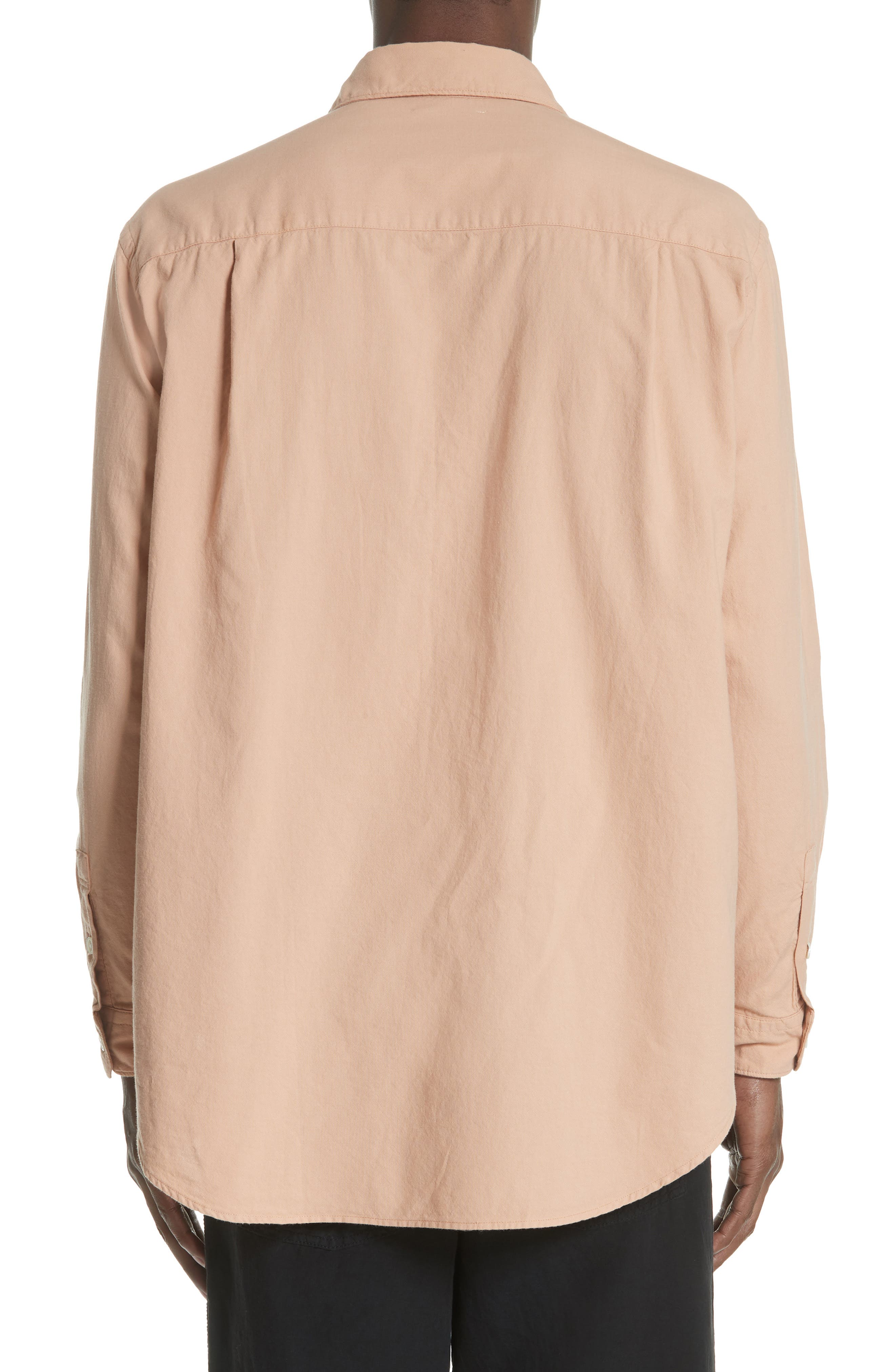 Oversize Basketweave Shirt,                             Alternate thumbnail 2, color,                             680
