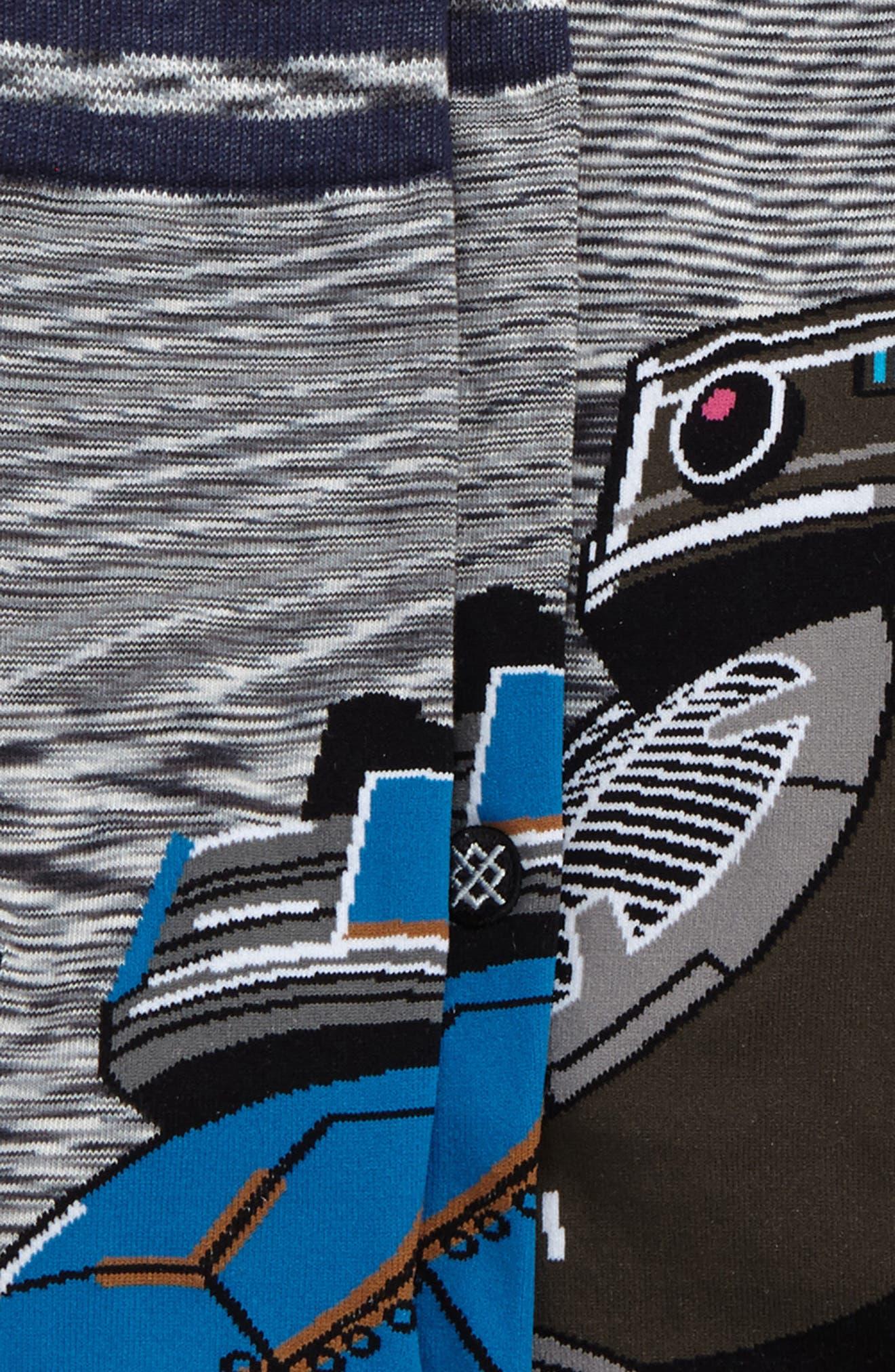Star Wars<sup>™</sup> Droid 3-Pack Socks,                             Alternate thumbnail 5, color,                             960