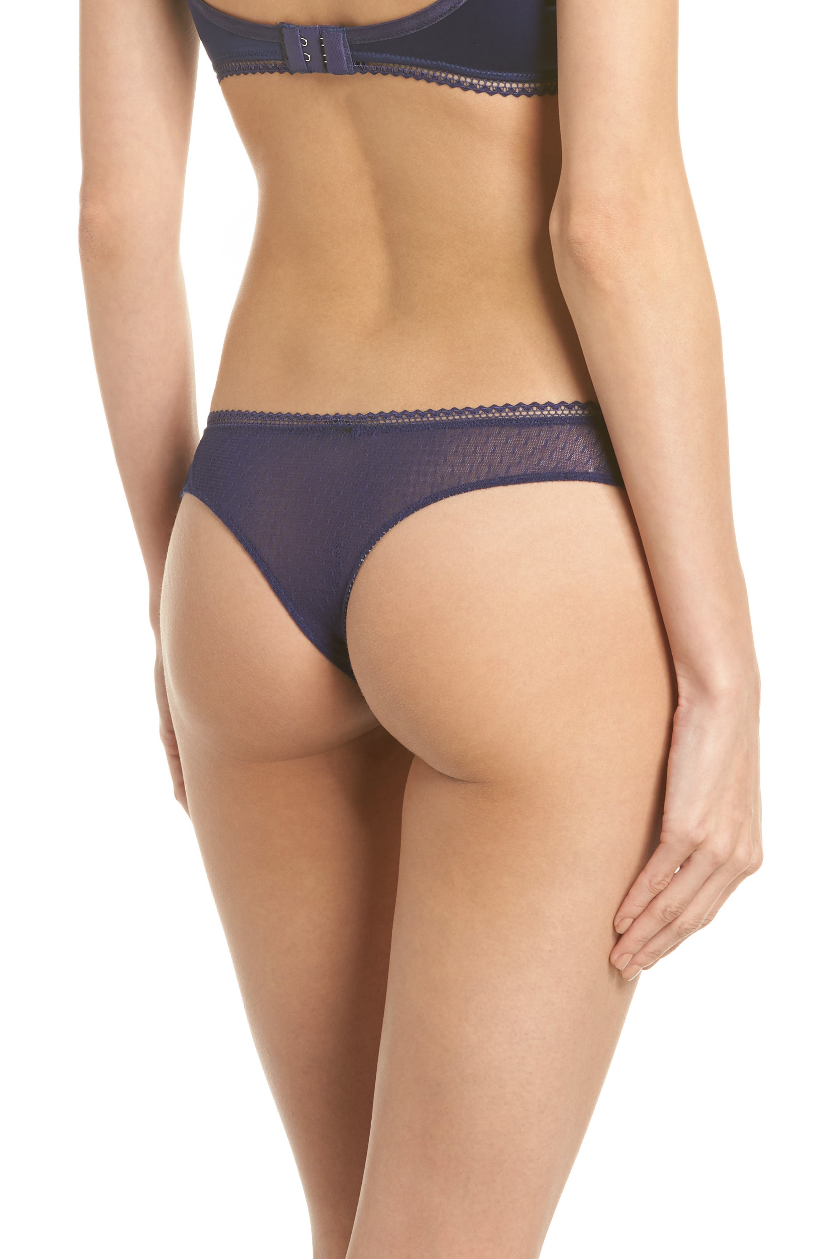 Thistle & Spire All Wrapped Up Thong,                             Alternate thumbnail 5, color,