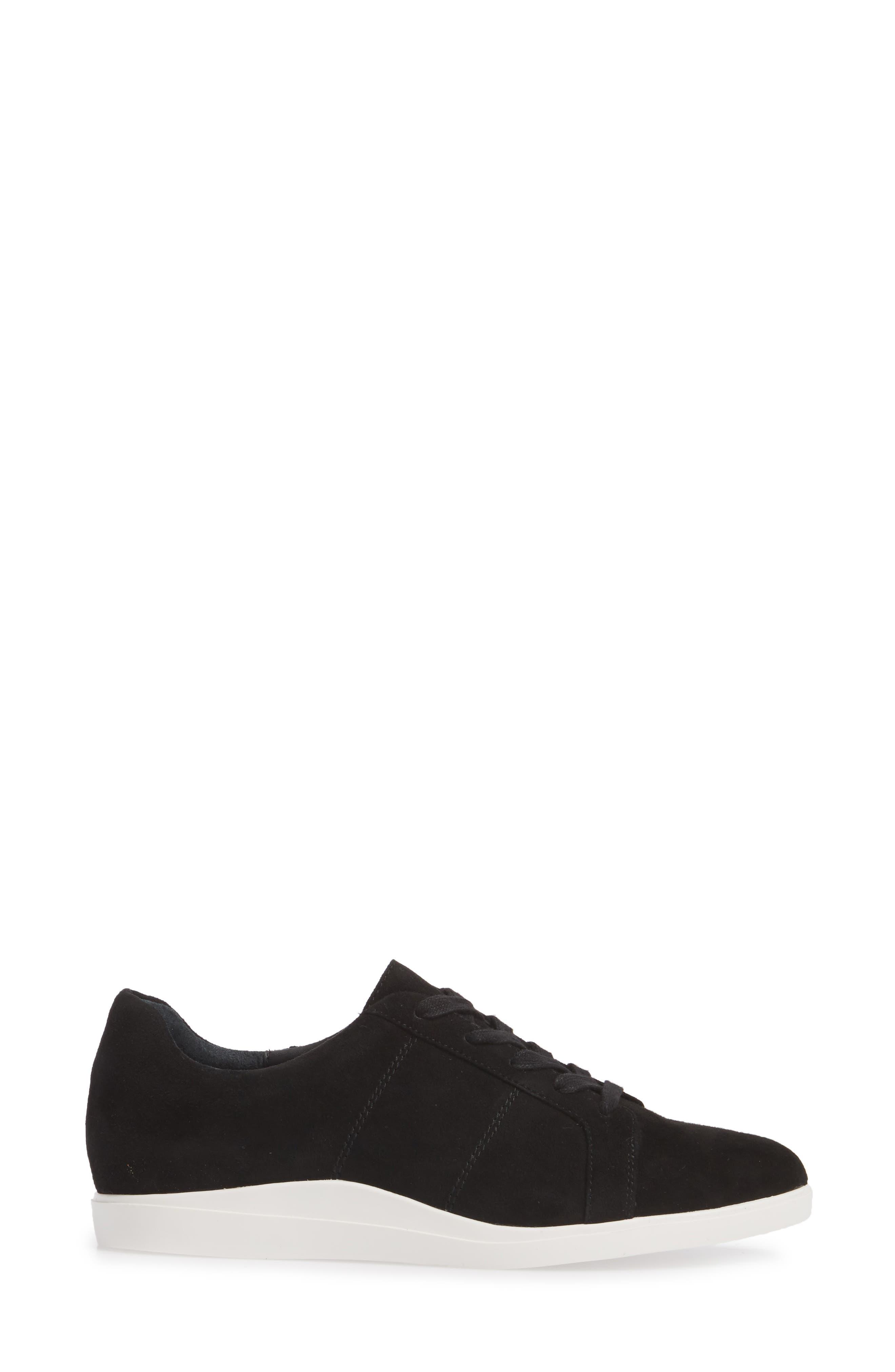 Sharleen Sneaker,                             Alternate thumbnail 3, color,                             001