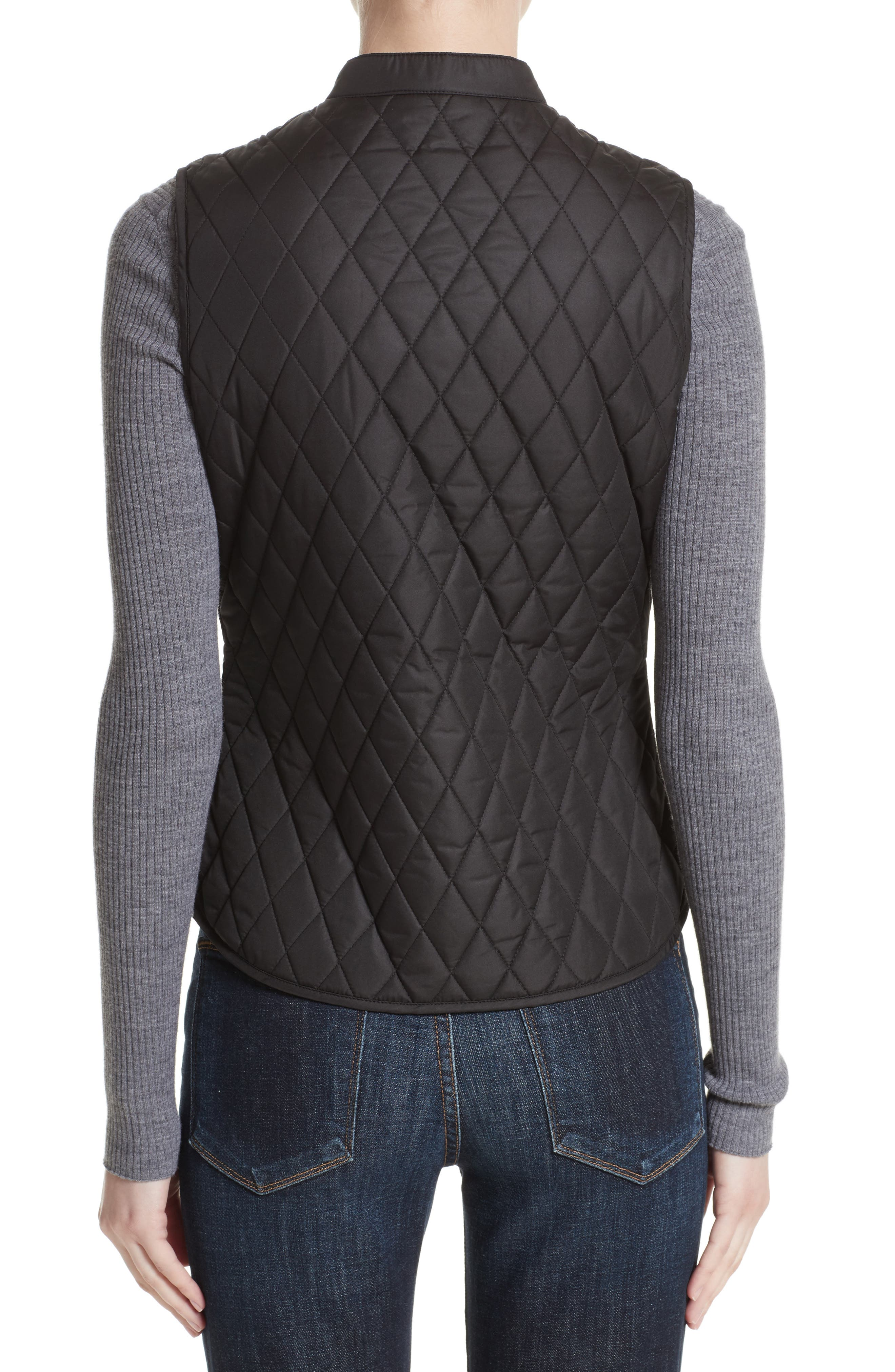 Westwell Technical Quilted Vest,                             Alternate thumbnail 2, color,                             001