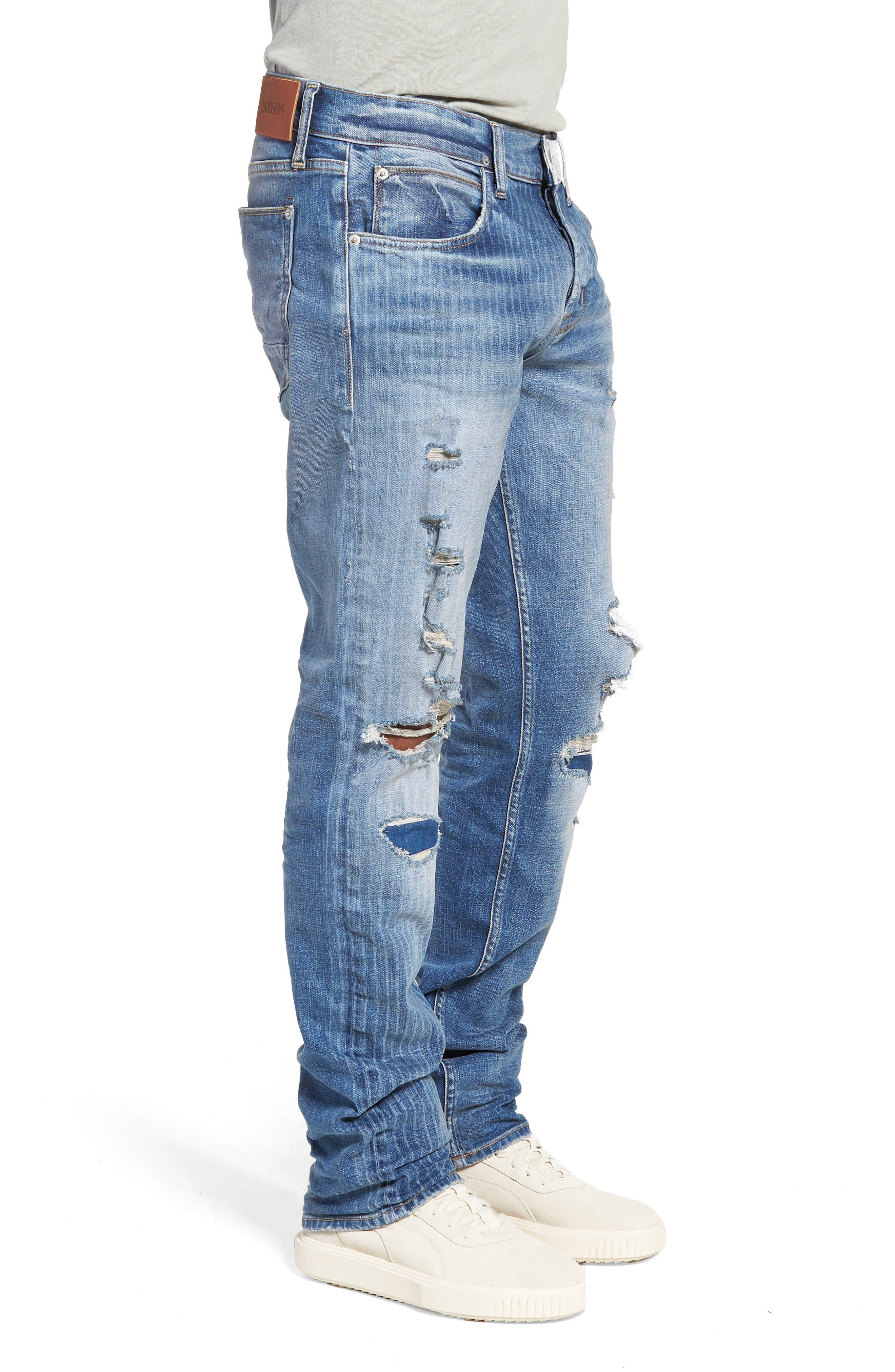 Blake Slim Fit Jeans,                             Alternate thumbnail 3, color,                             421