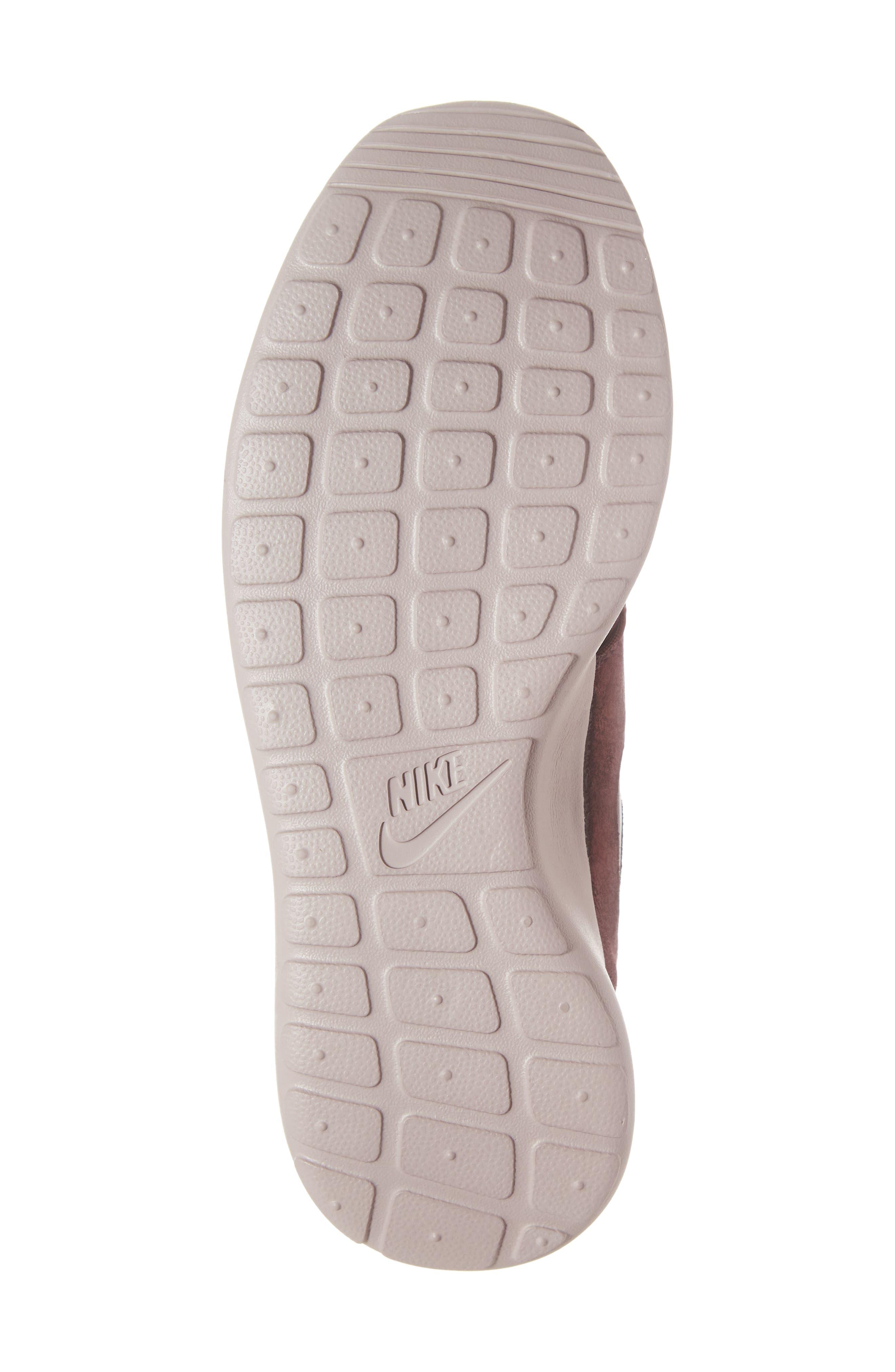 'Roshe Run' Print Sneaker,                             Alternate thumbnail 6, color,                             METALLIC MAHOGANY/ MAHOGANY