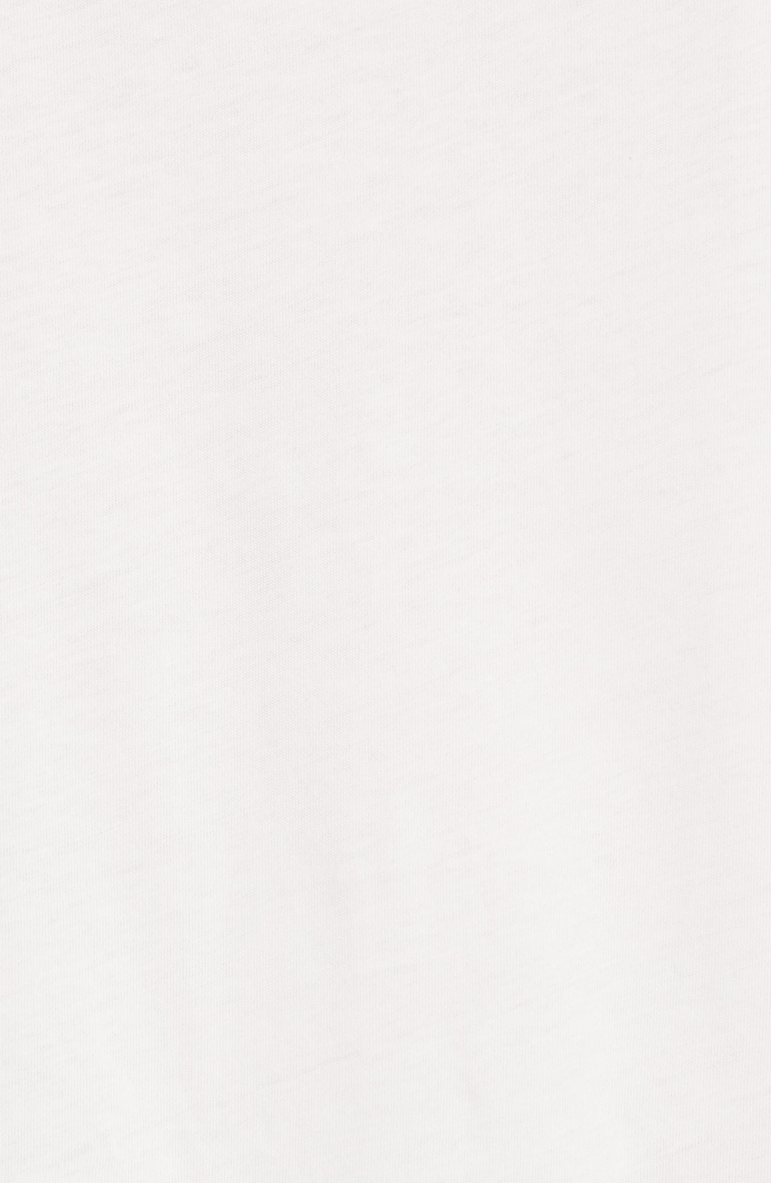 Tamega Ruffle Cotton Jersey Tee,                             Alternate thumbnail 5, color,                             106