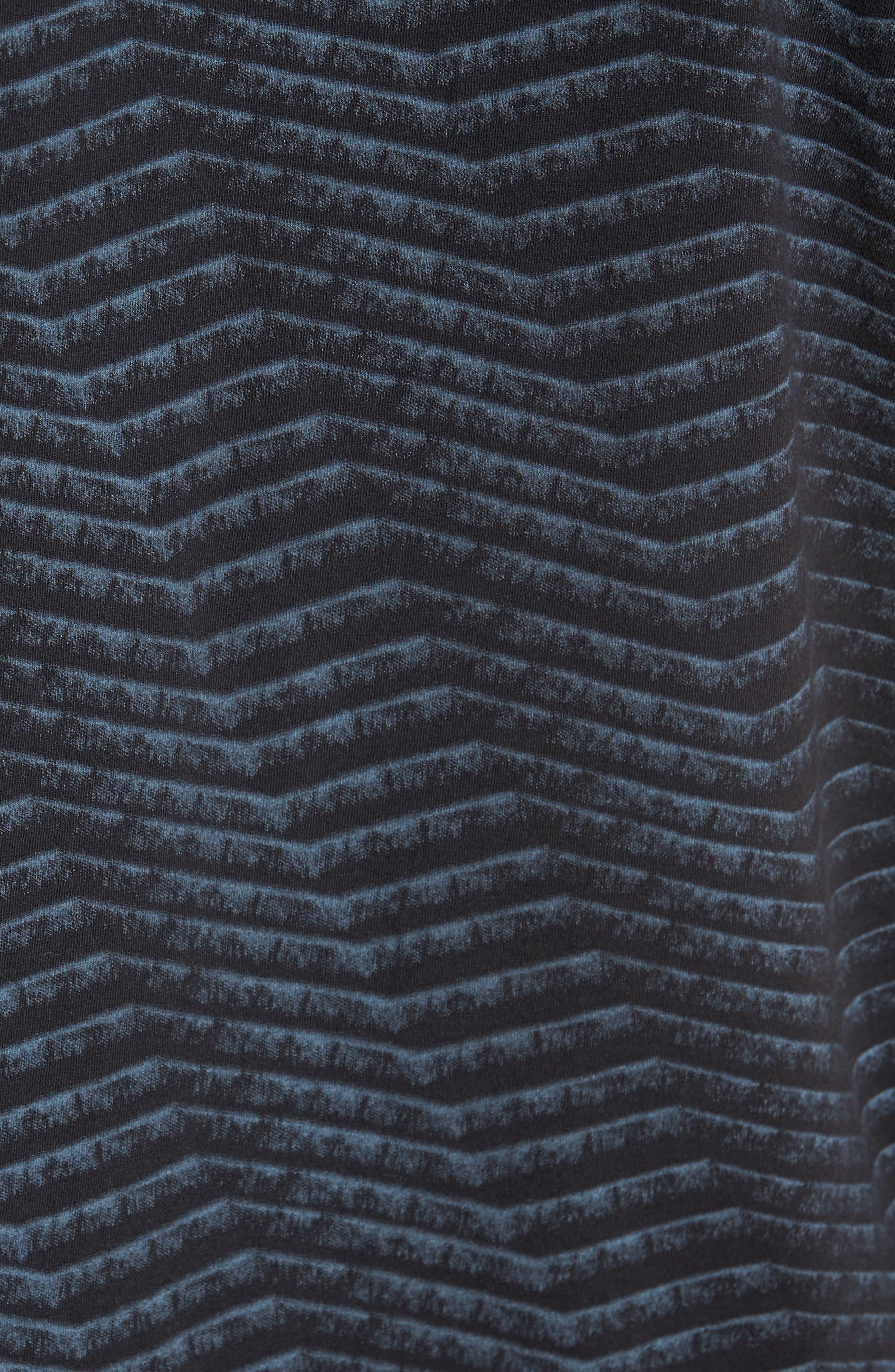 Chevron Stripe T-Shirt,                             Alternate thumbnail 5, color,