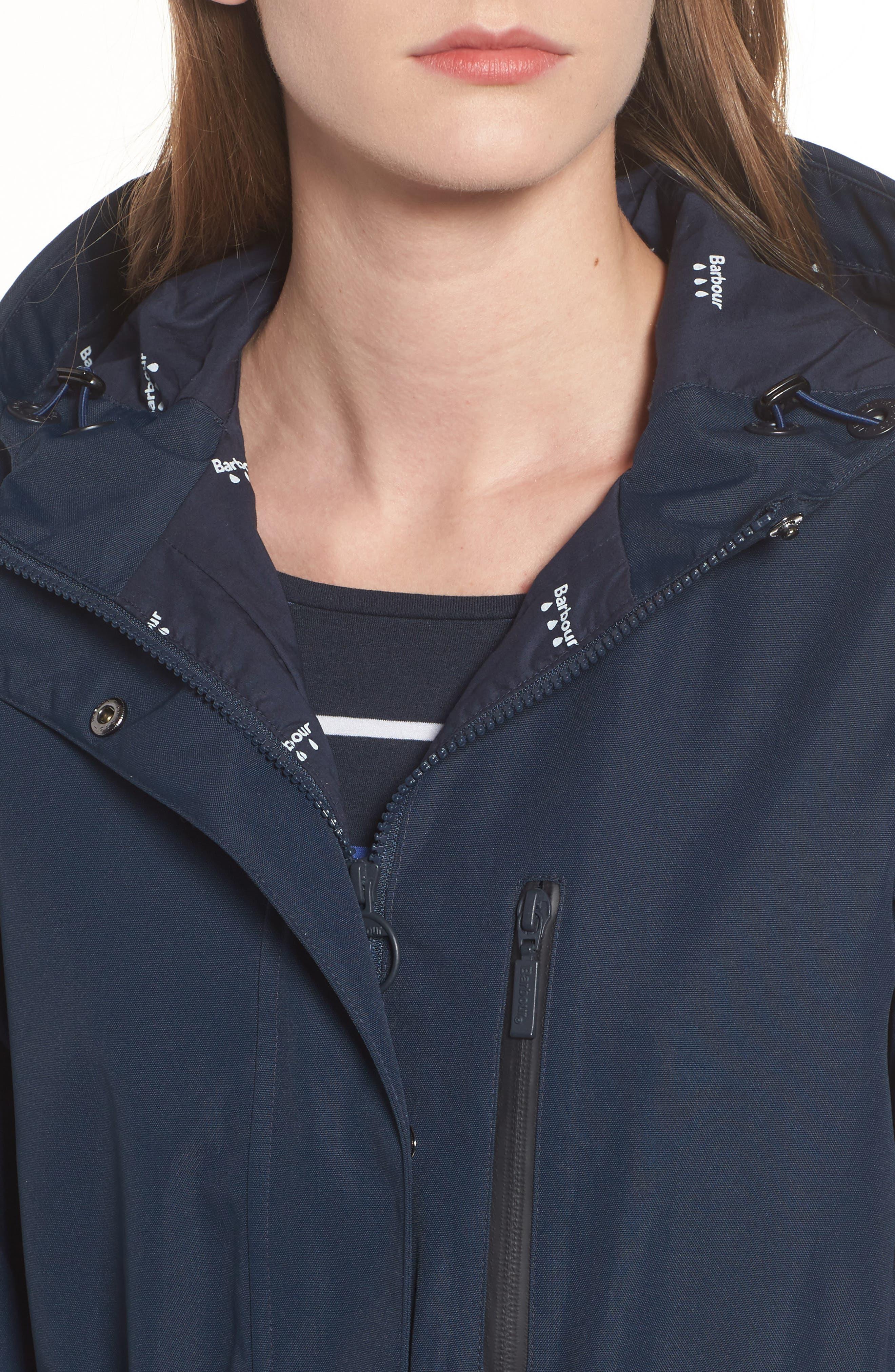 Sleet Hooded Jacket,                             Alternate thumbnail 8, color,