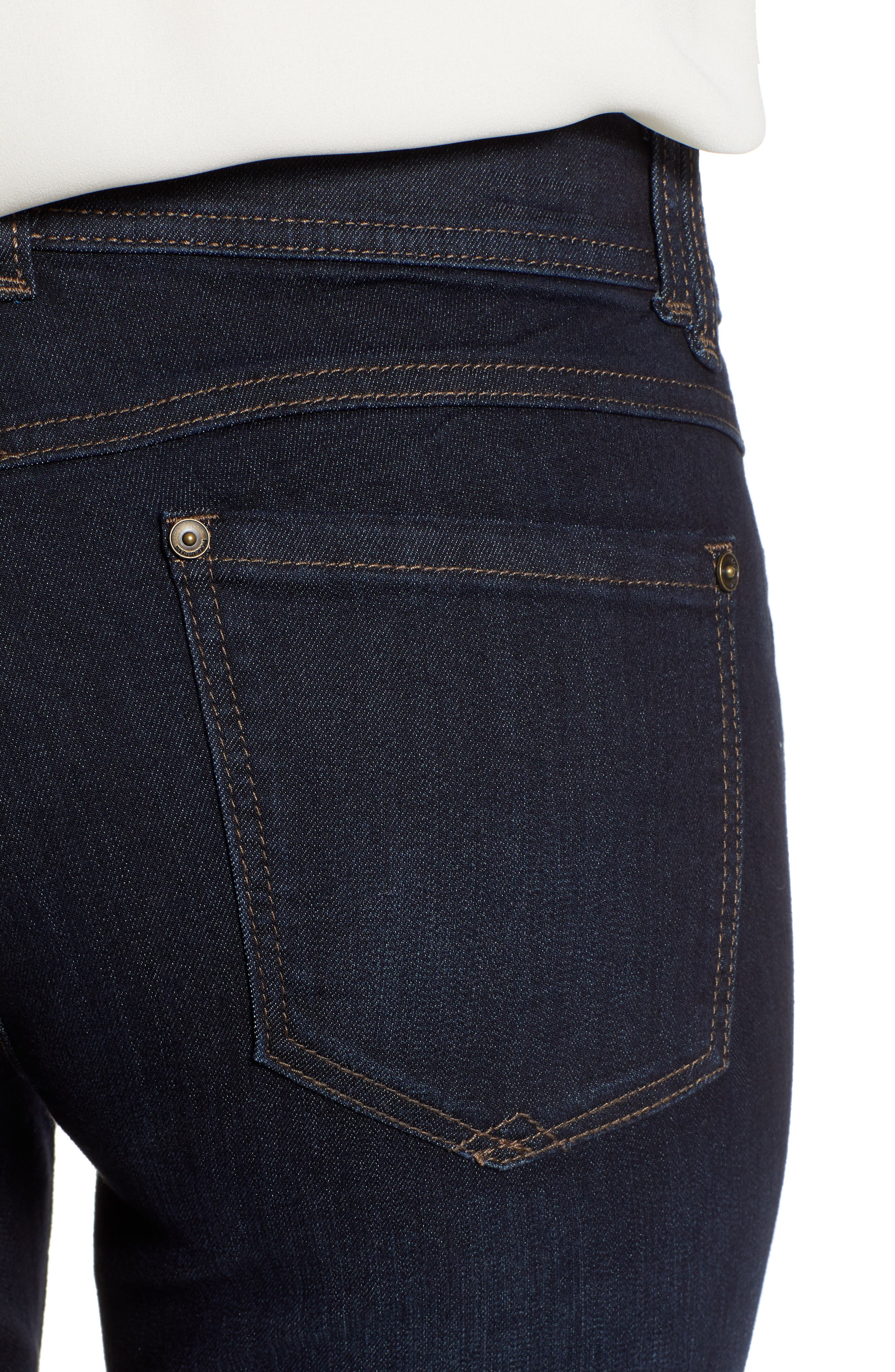 Ab-solution Itty Bitty Bootcut Jeans,                             Alternate thumbnail 4, color,                             INDIGO