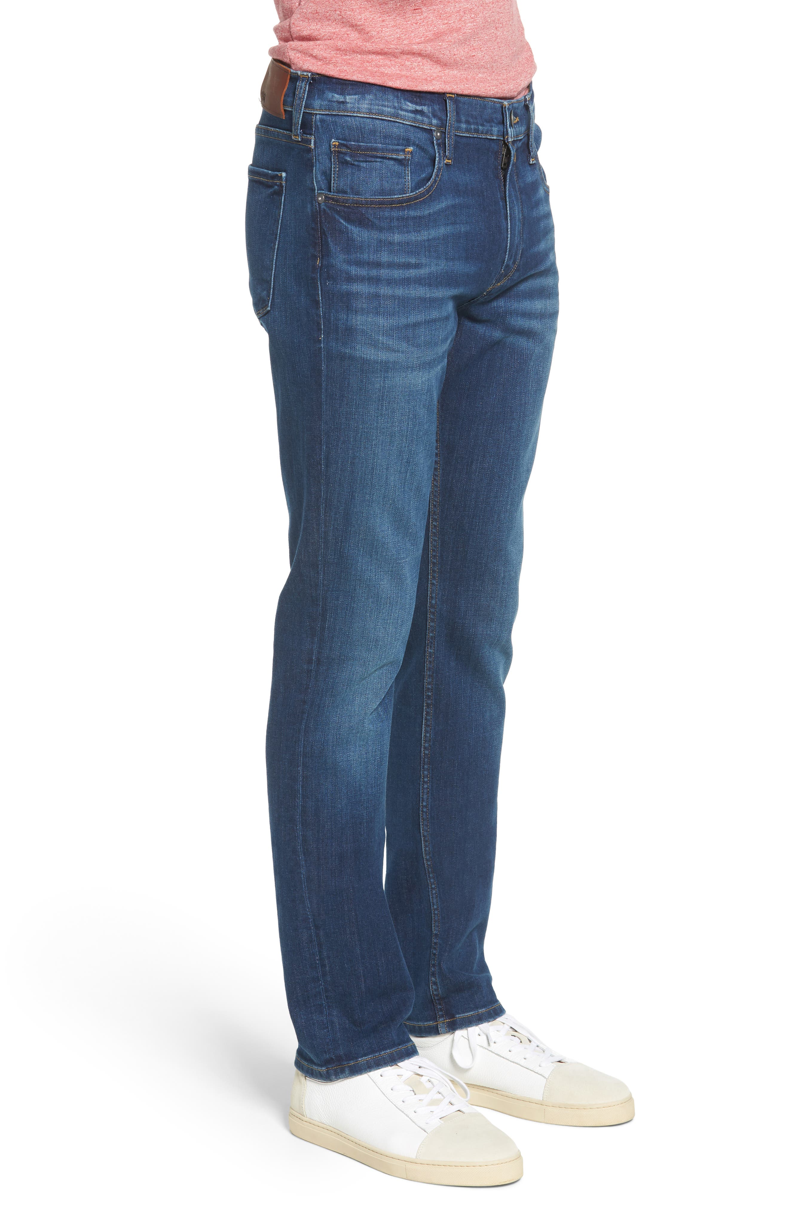 Federal Slim Straight Leg Jeans,                             Alternate thumbnail 3, color,                             ASHBROOK