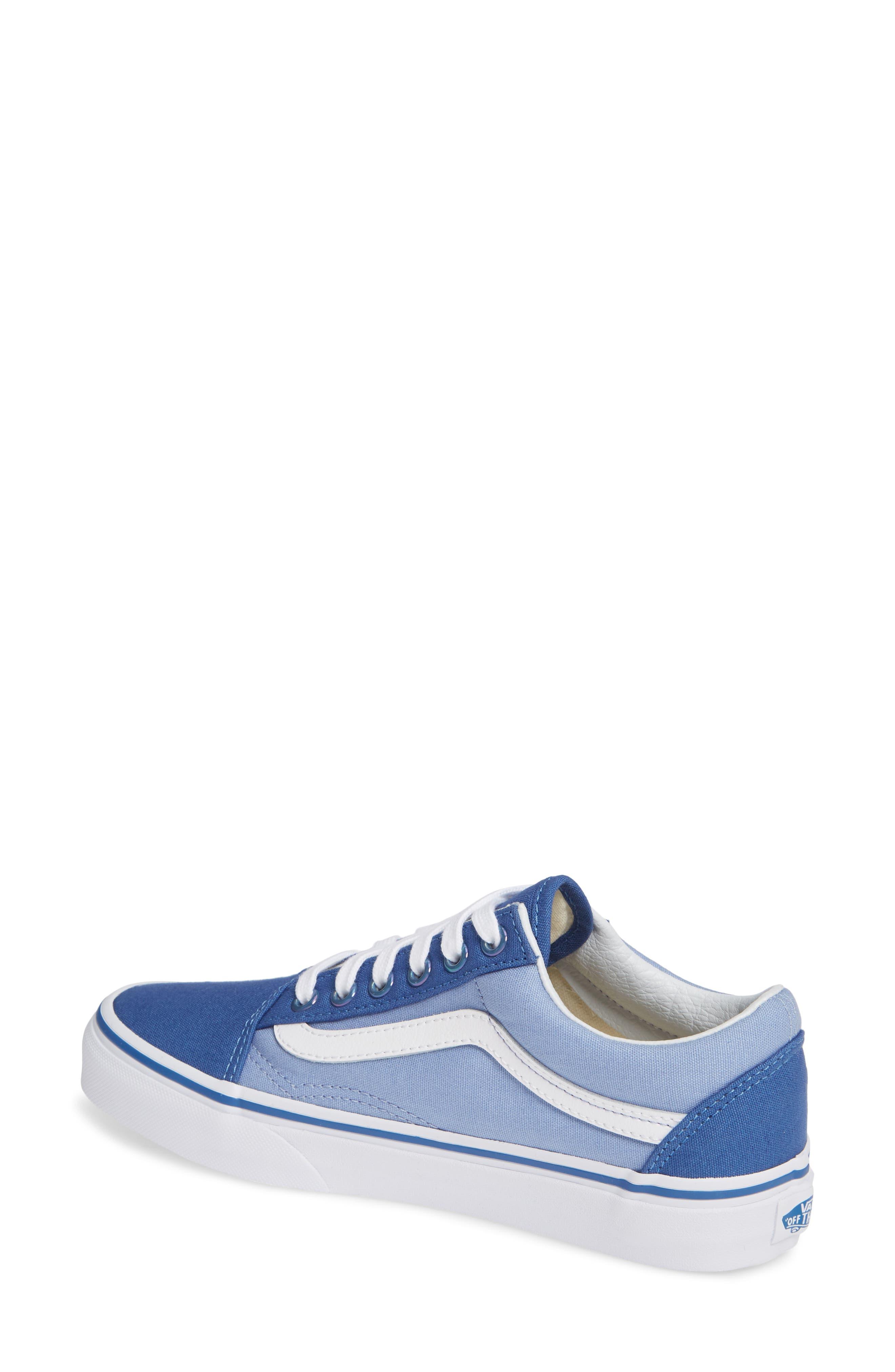 Old Skool Sneaker,                             Alternate thumbnail 2, color,                             FEDERAL BLUE/ LAVENDER LUSTER
