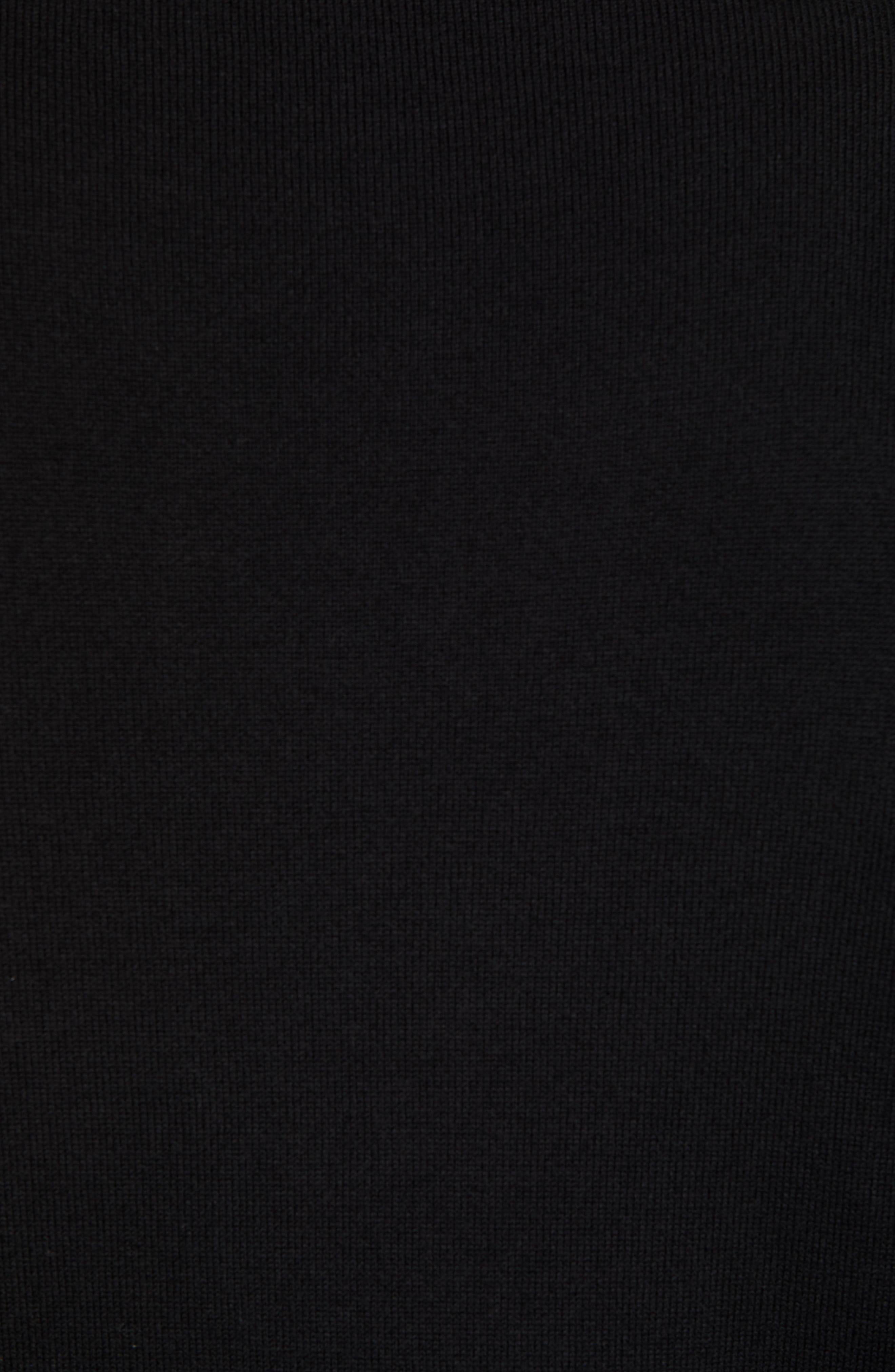 Jacksonville Jaguars - Lakemont Regular Fit Quarter Zip Sweater,                             Alternate thumbnail 5, color,                             BLACK