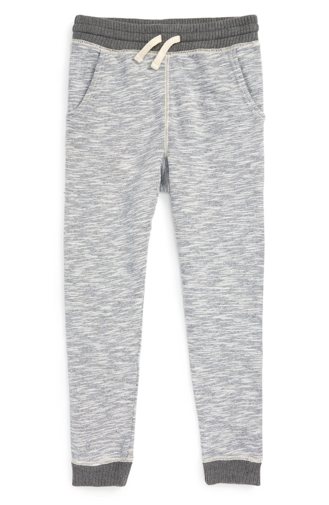 Knit Jogger Pants,                         Main,                         color, GREY MEDIUM HEATHER