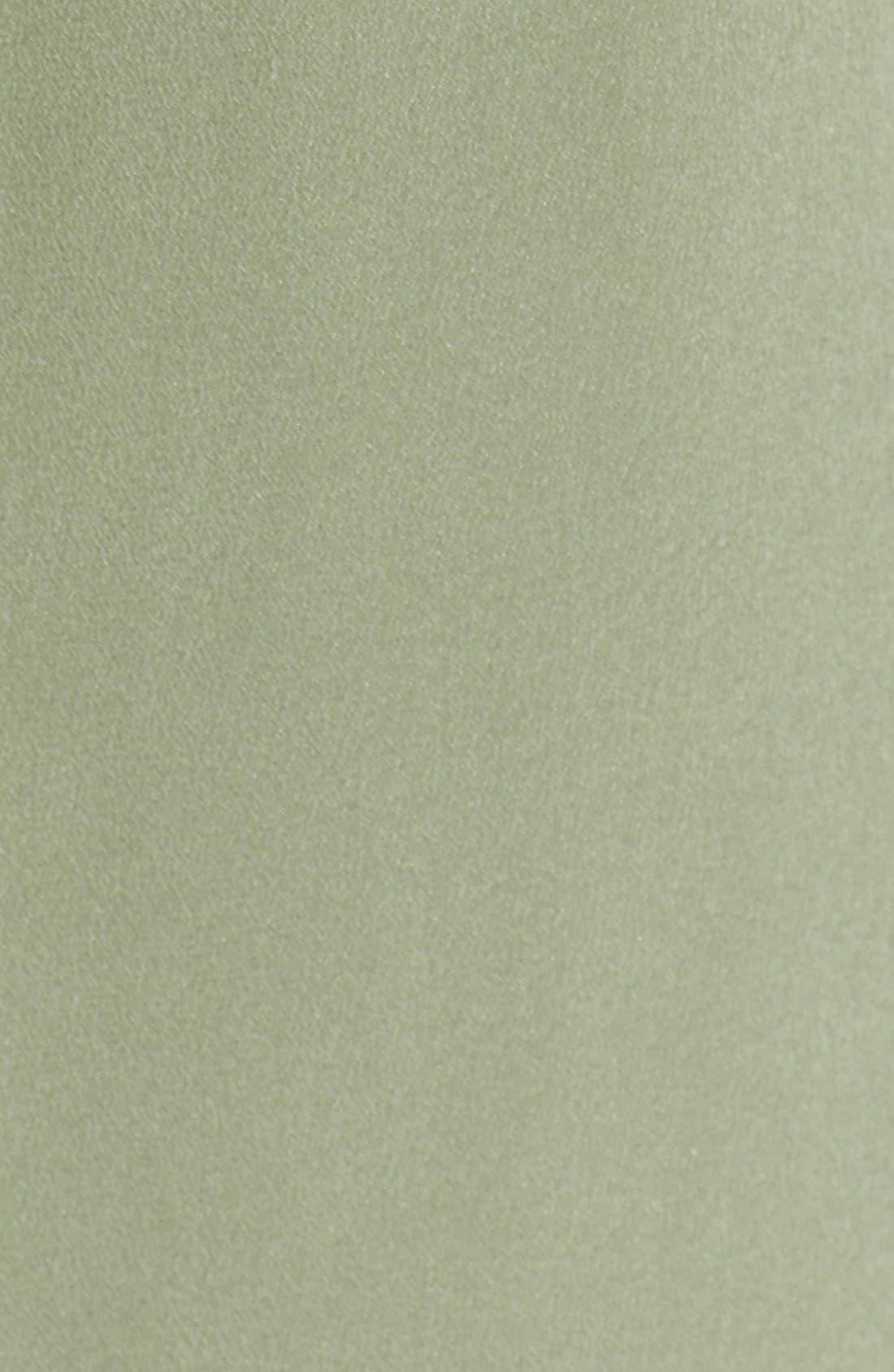 'Signature' Silk Shirtdress,                             Alternate thumbnail 8, color,