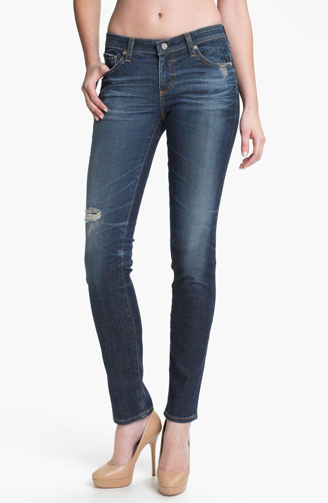 'The Legging' Super Skinny Jeans,                             Main thumbnail 9, color,