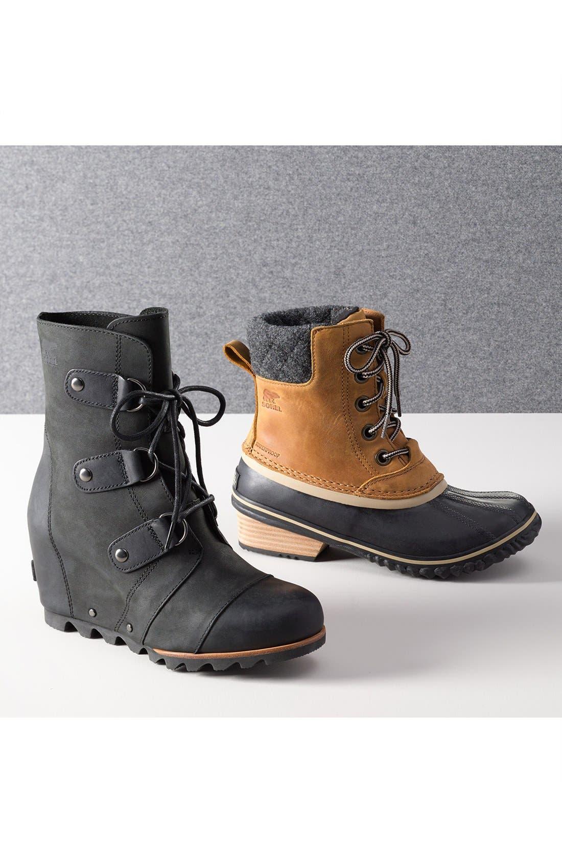 'Joan of Arctic' Waterproof Wedge Boot,                             Main thumbnail 1, color,                             081