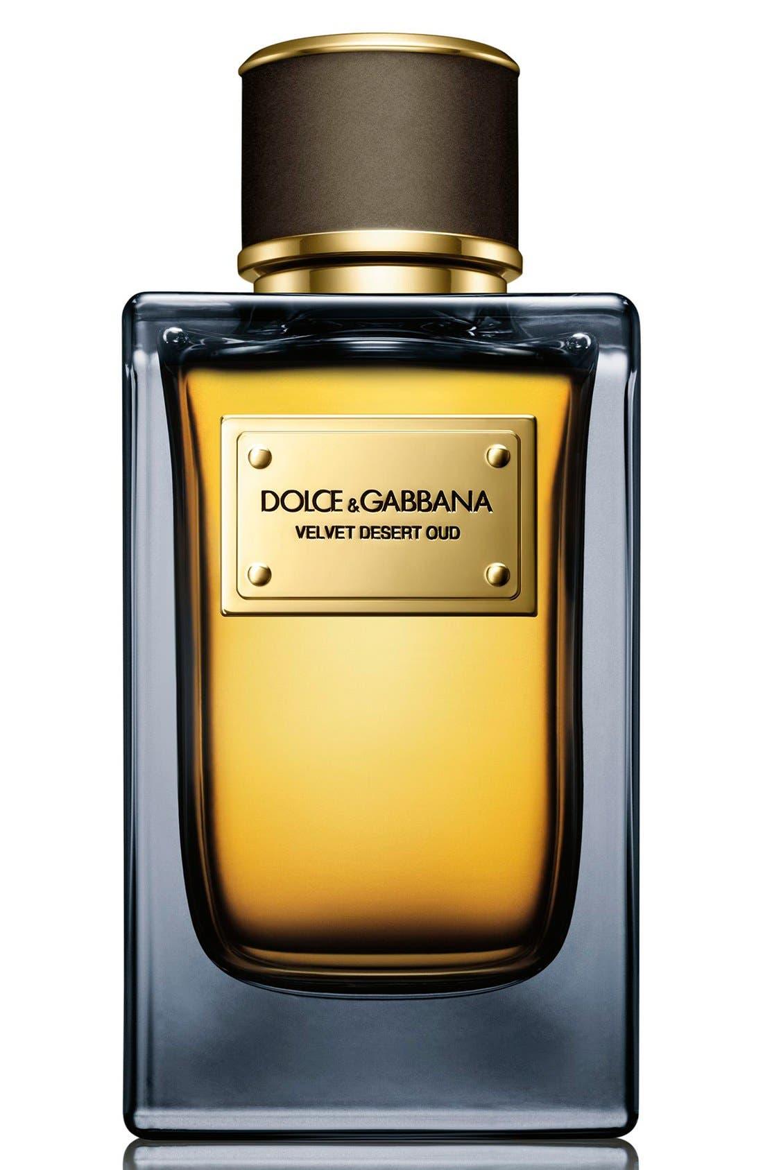 Dolce&GabbanaBeauty 'Velvet Desert Oud' Eau de Parfum,                             Alternate thumbnail 4, color,                             NO COLOR