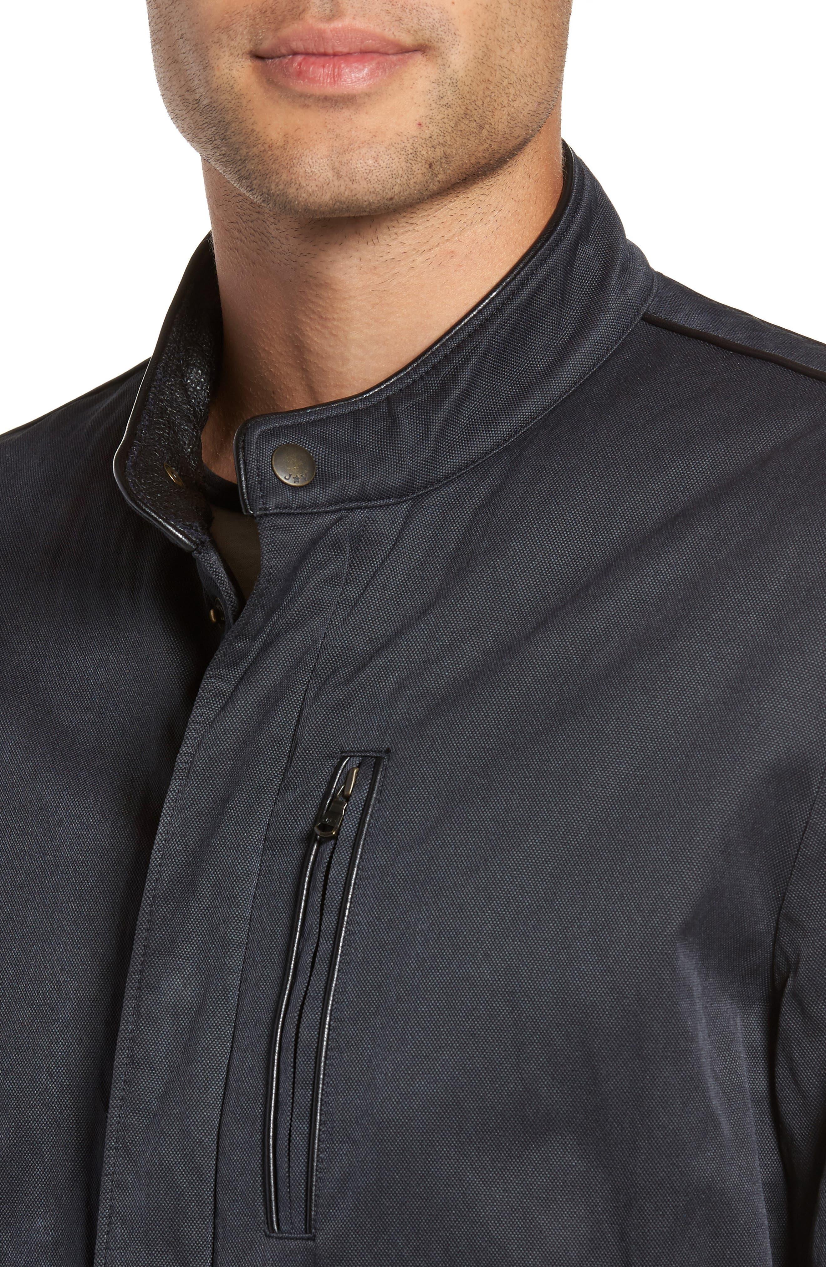 Band Collar Jacket,                             Alternate thumbnail 4, color,                             414