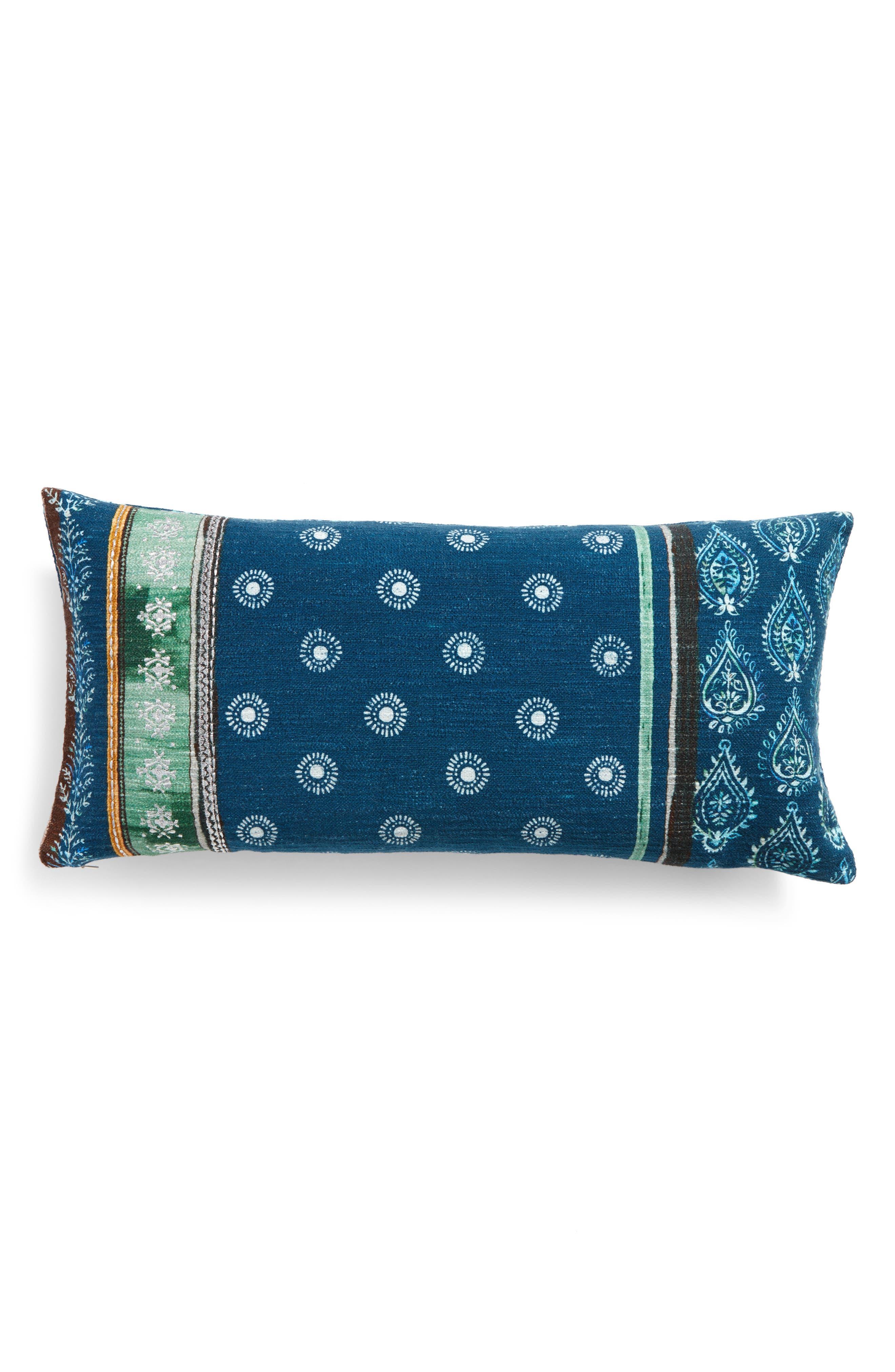 Block Print Pillow,                         Main,                         color, 410