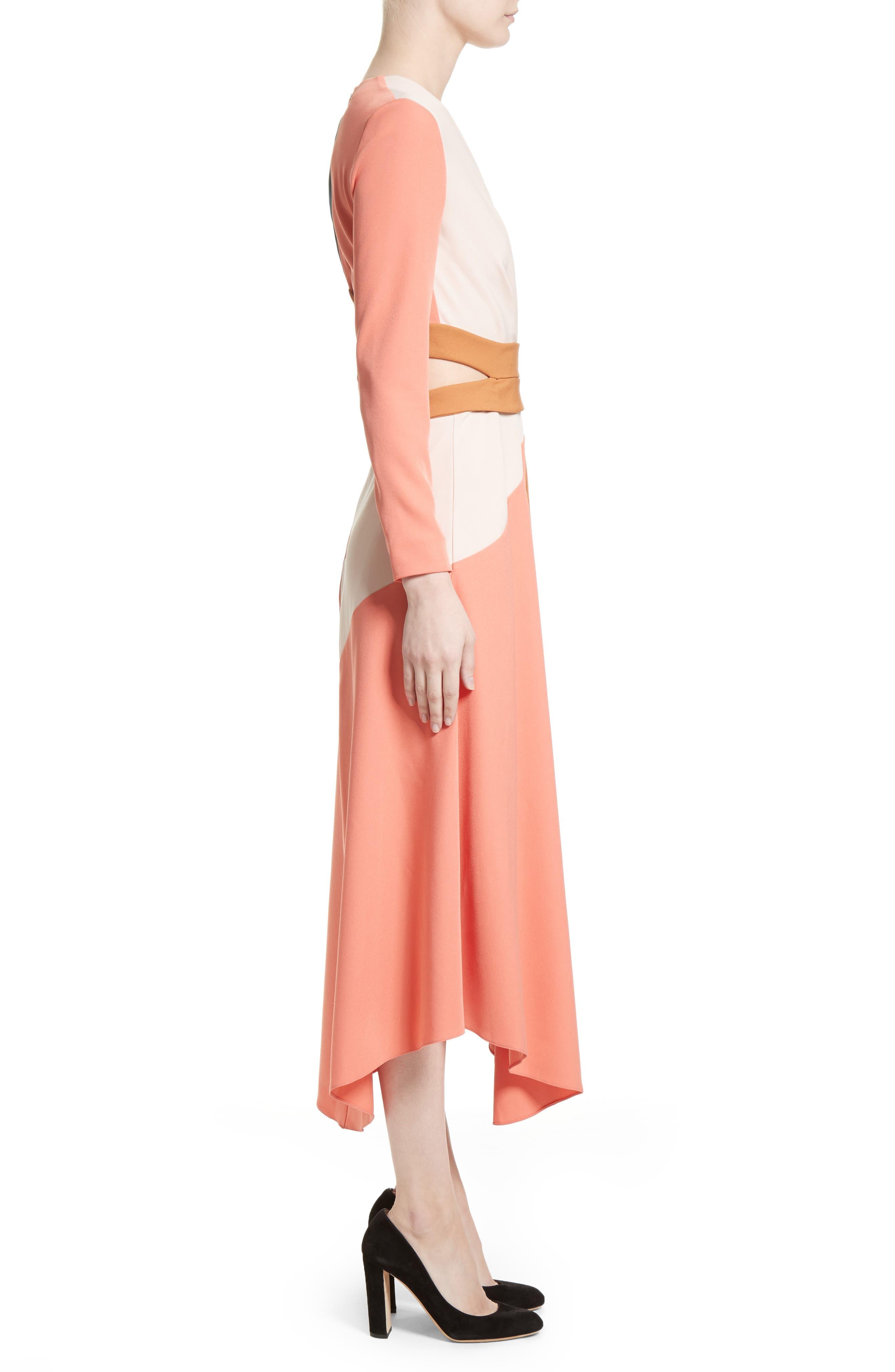 Himera Wrap Dress,                             Alternate thumbnail 3, color,                             950