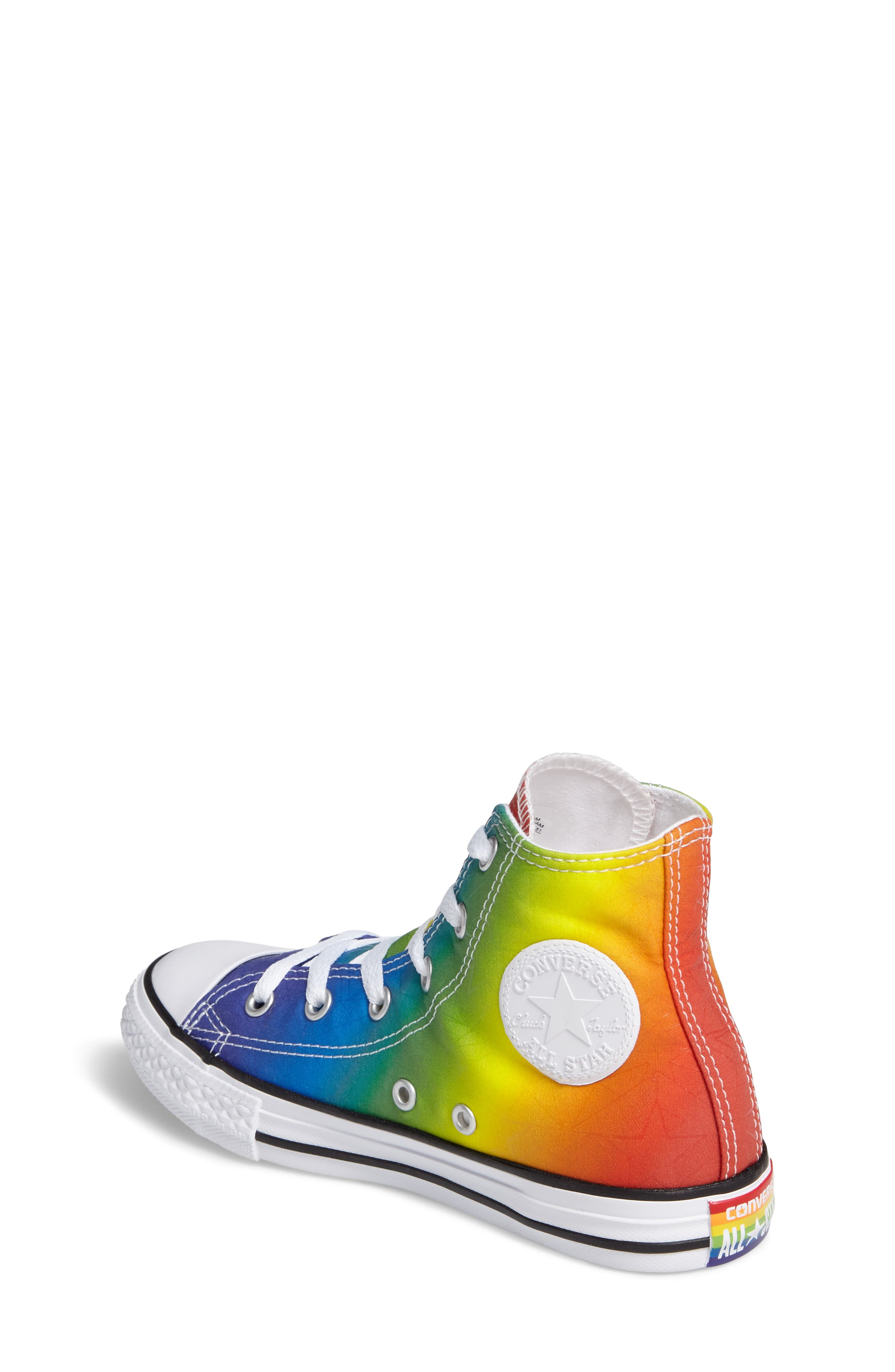 Chuck Taylor<sup>®</sup> All Star<sup>®</sup> Pride High Top Sneaker,                             Alternate thumbnail 2, color,                             400