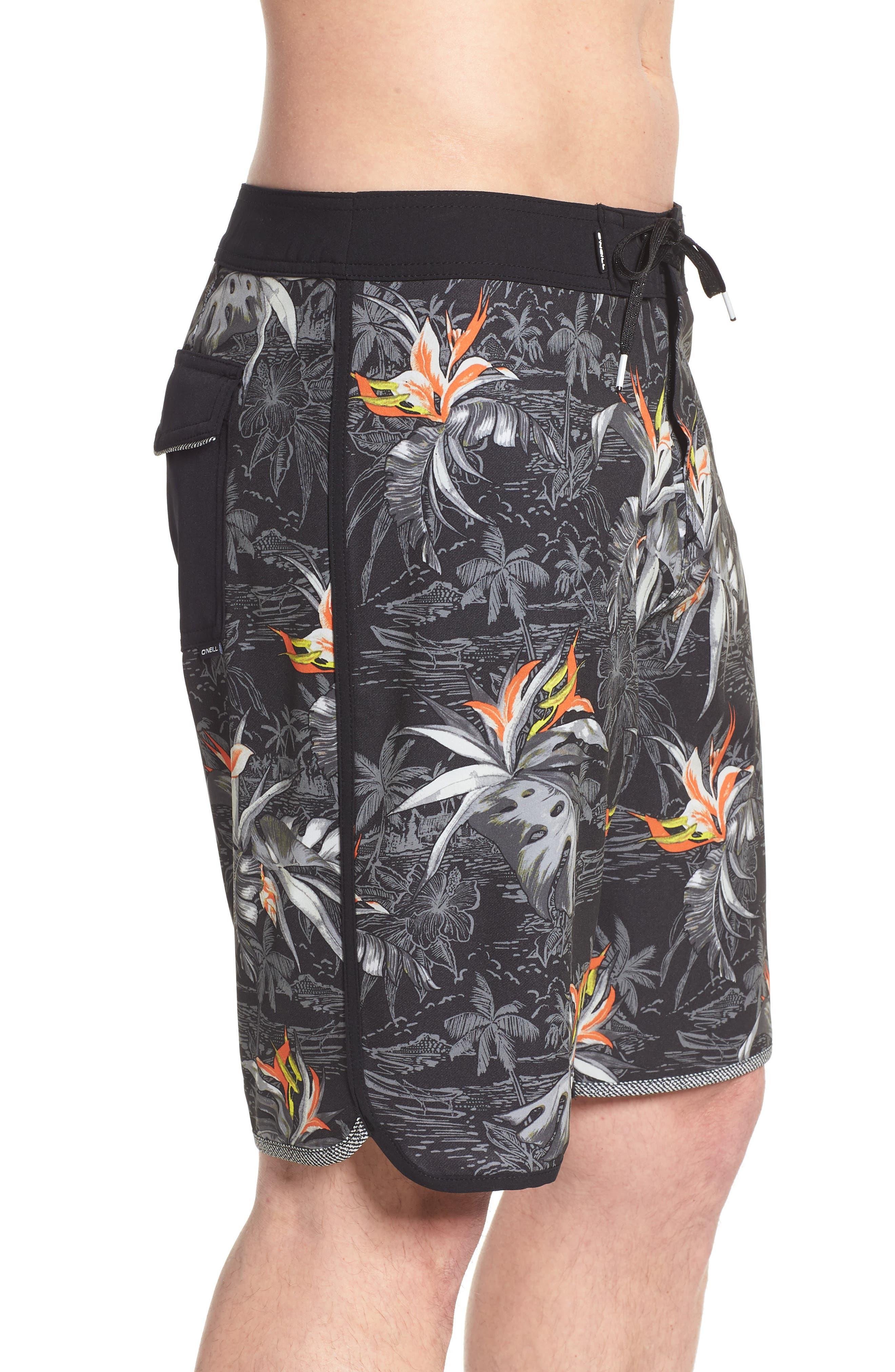 O'NEILL,                             Hyperfreak Islander Board Shorts,                             Alternate thumbnail 3, color,                             001