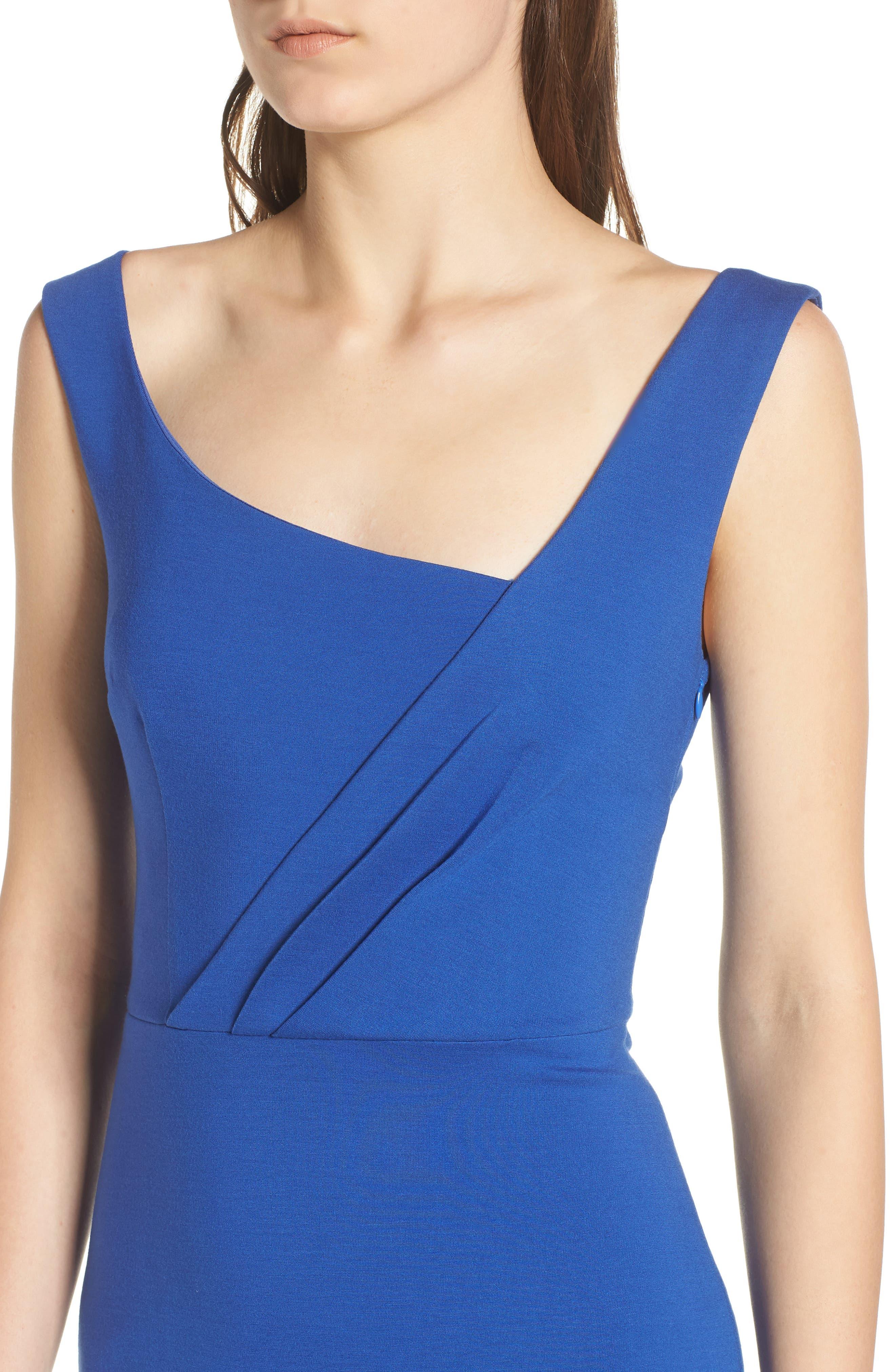 Viola Asymmetrical Dress,                             Alternate thumbnail 4, color,                             460