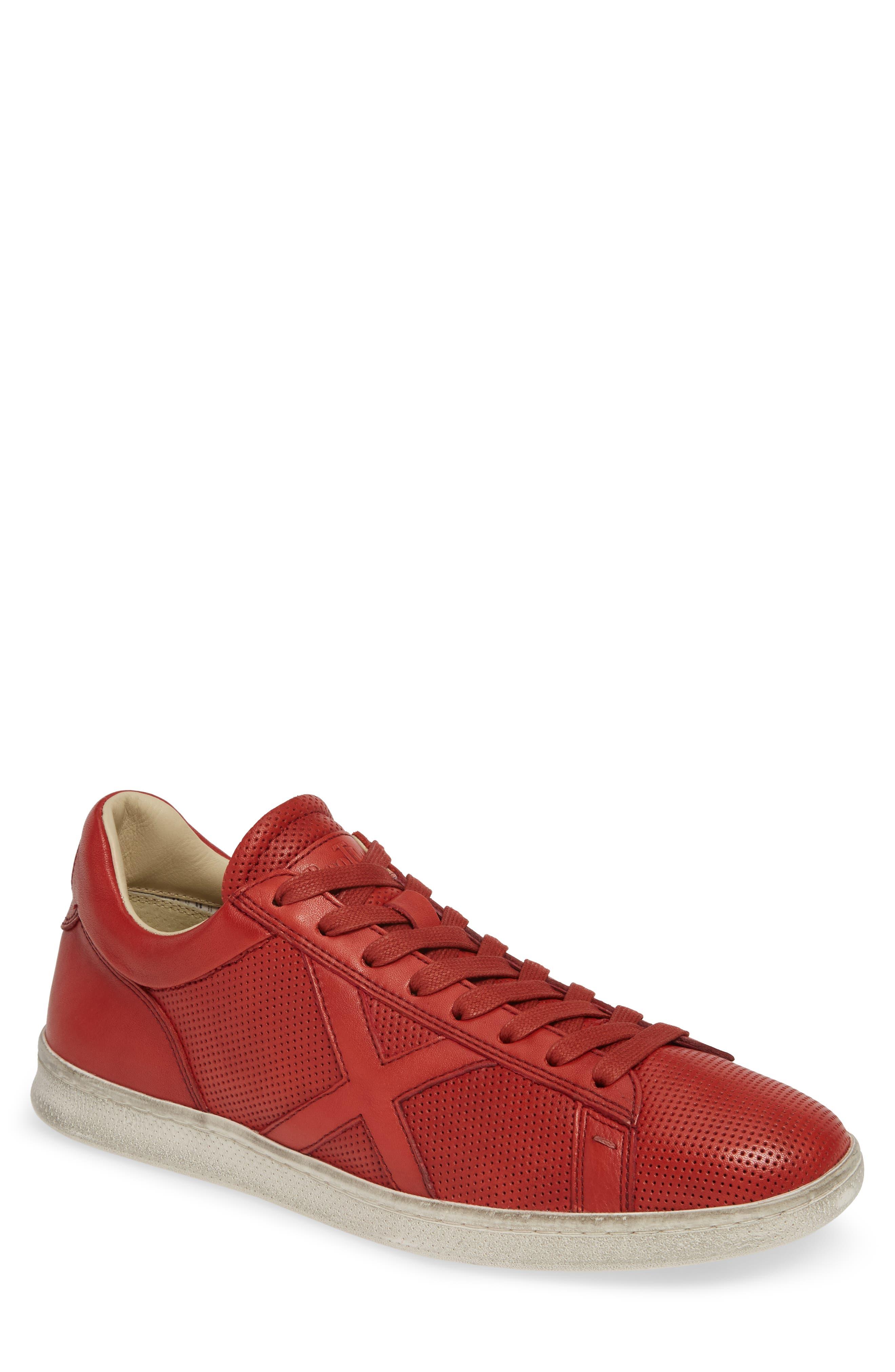 Bootleg By John Varvatos Perforated Sneaker, Red