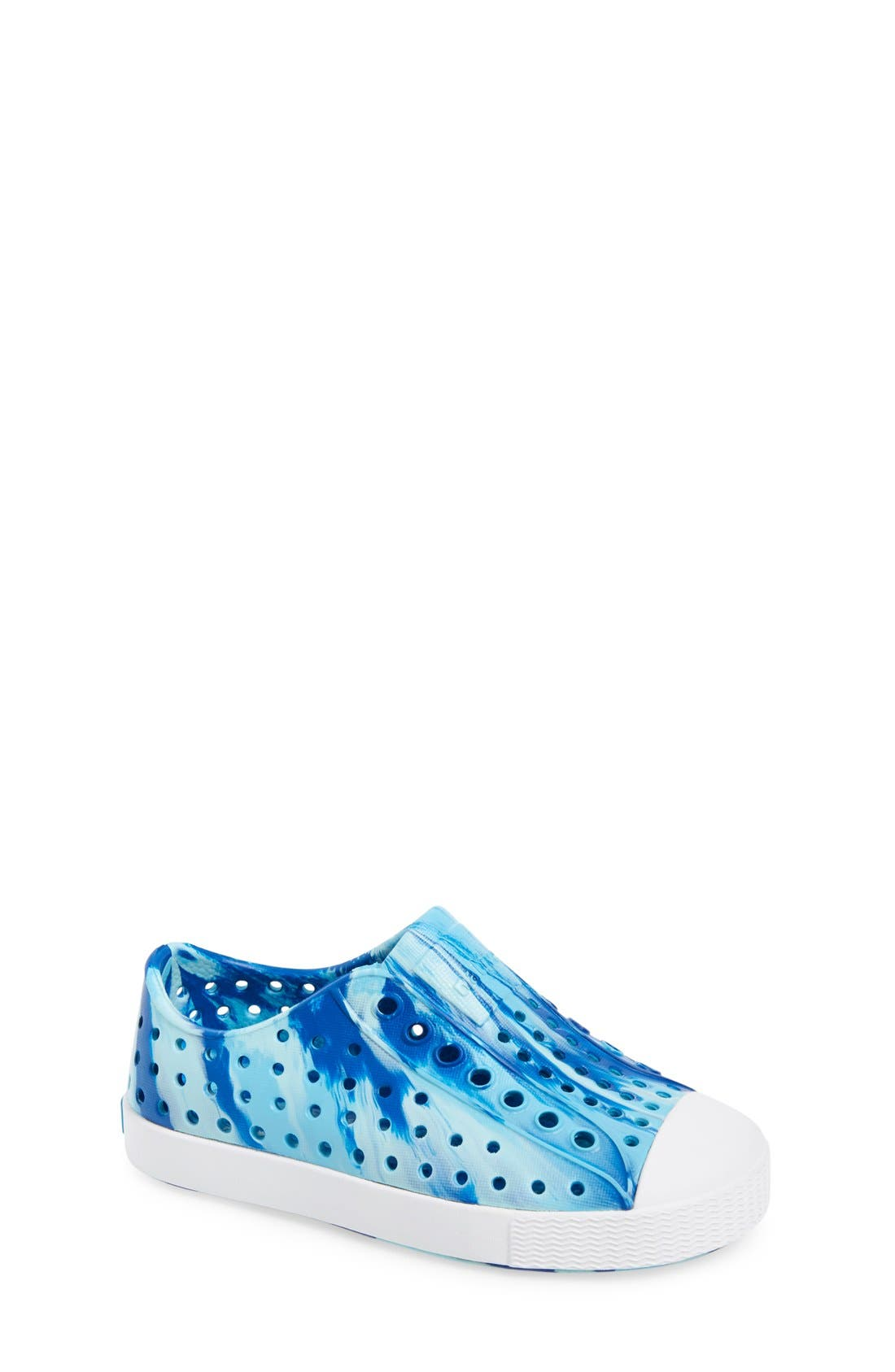 Jefferson - Marbled Perforated Slip-On,                             Main thumbnail 16, color,