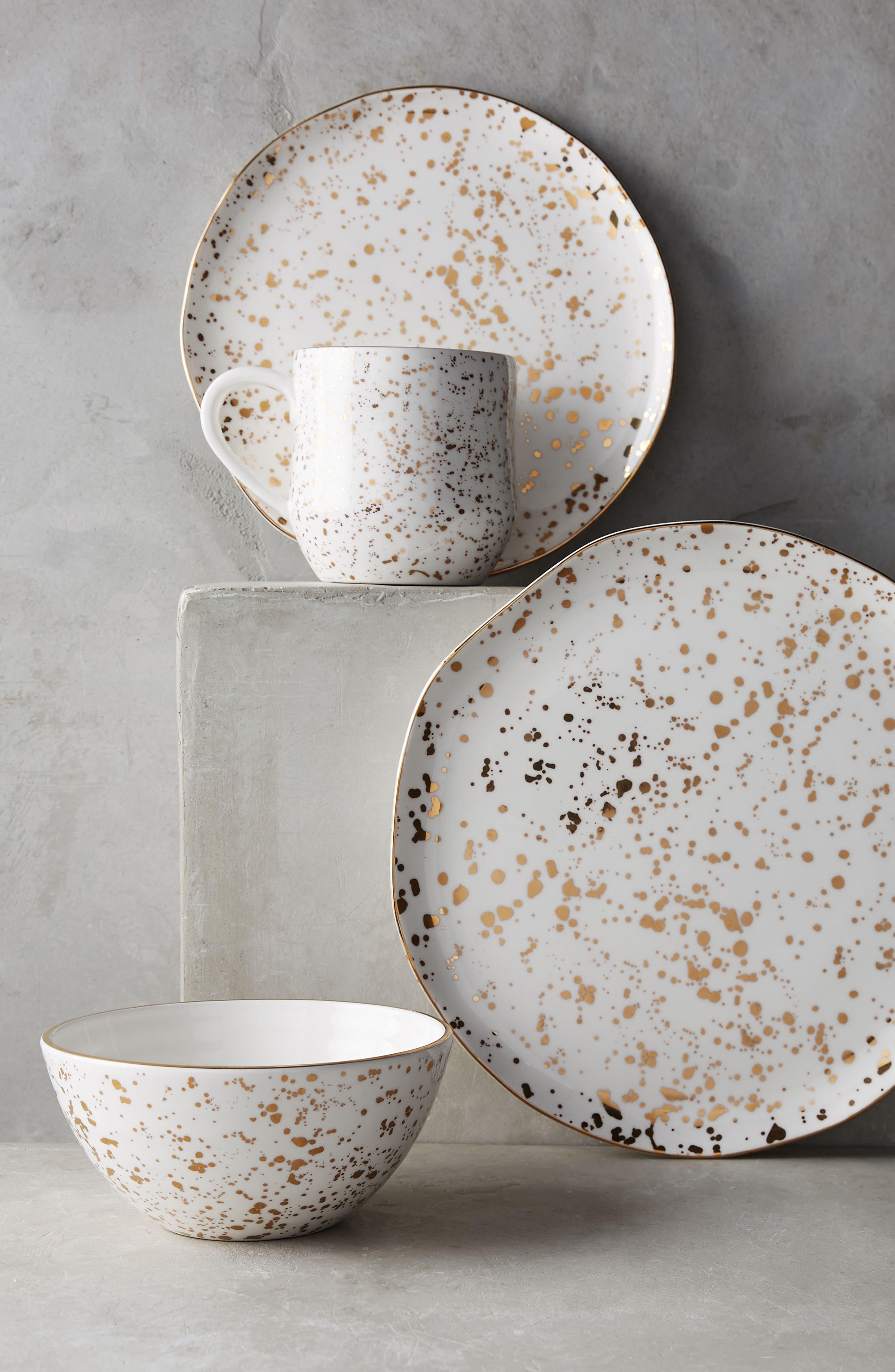 Mimira Stoneware Side Plate,                             Alternate thumbnail 2, color,                             712