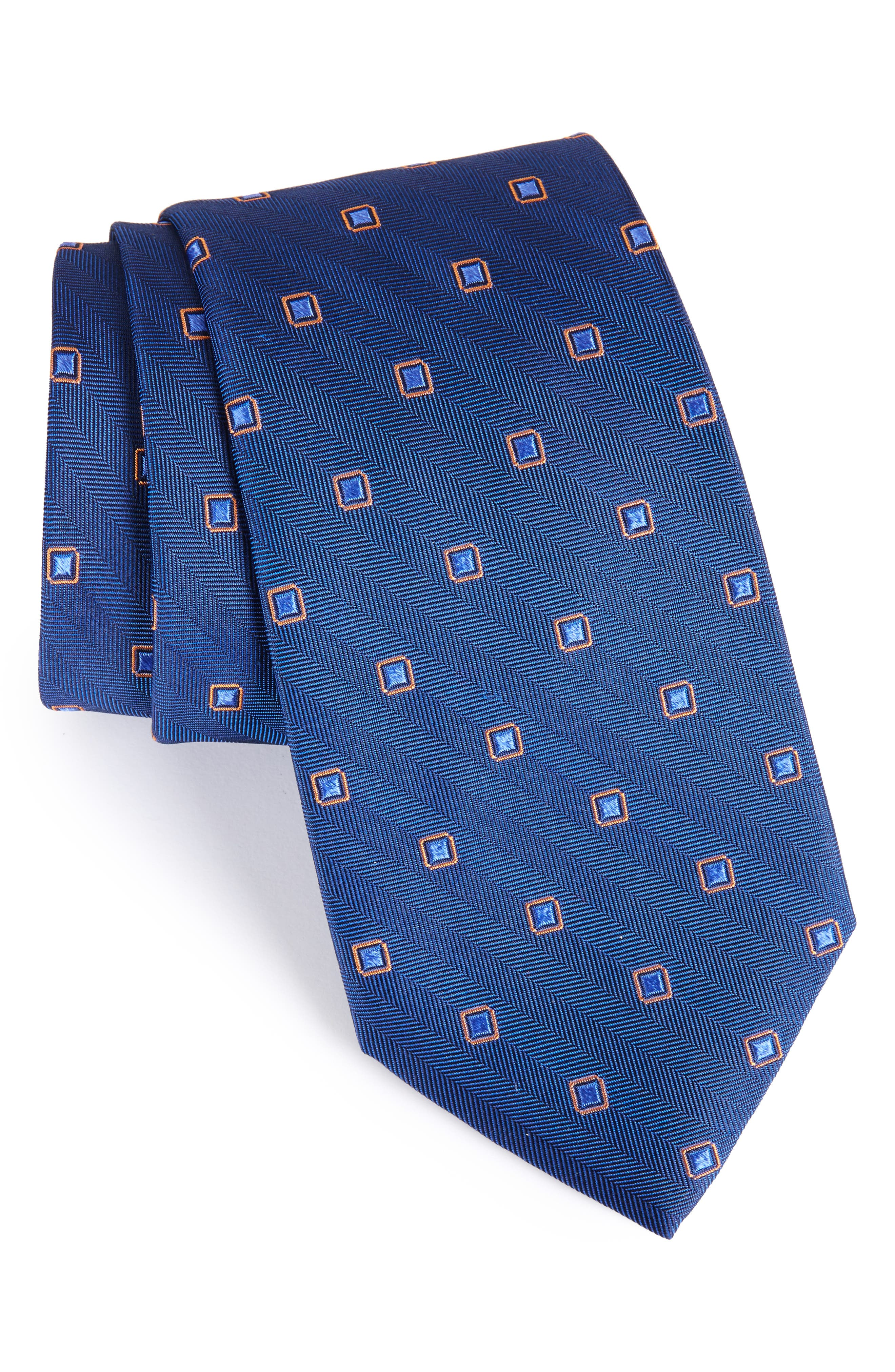 Open Ground Silk Tie,                             Main thumbnail 4, color,