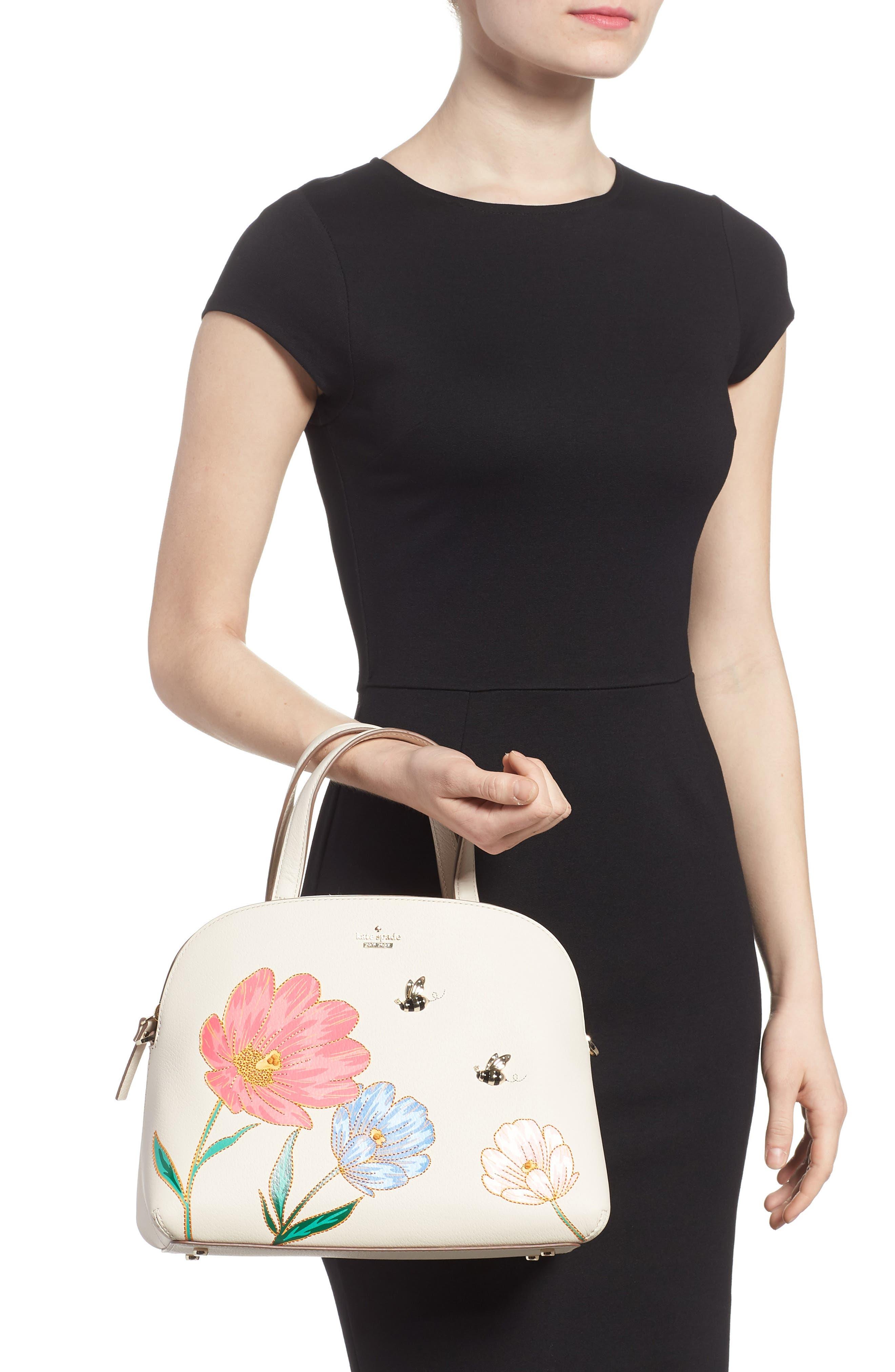 picnic perfect – lottie leather satchel,                             Alternate thumbnail 2, color,                             700