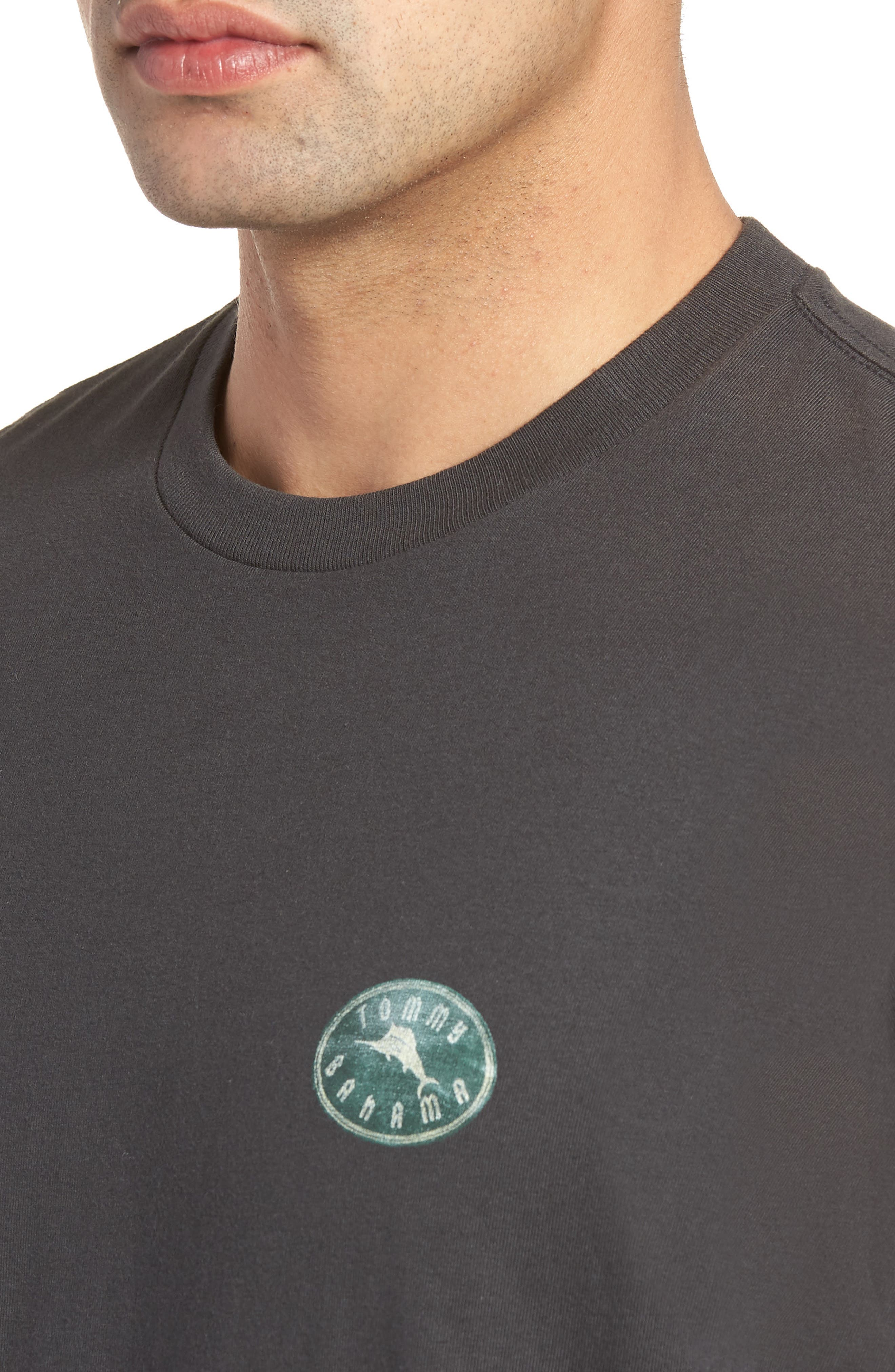 Chalk & Roll T-Shirt,                             Alternate thumbnail 4, color,                             001
