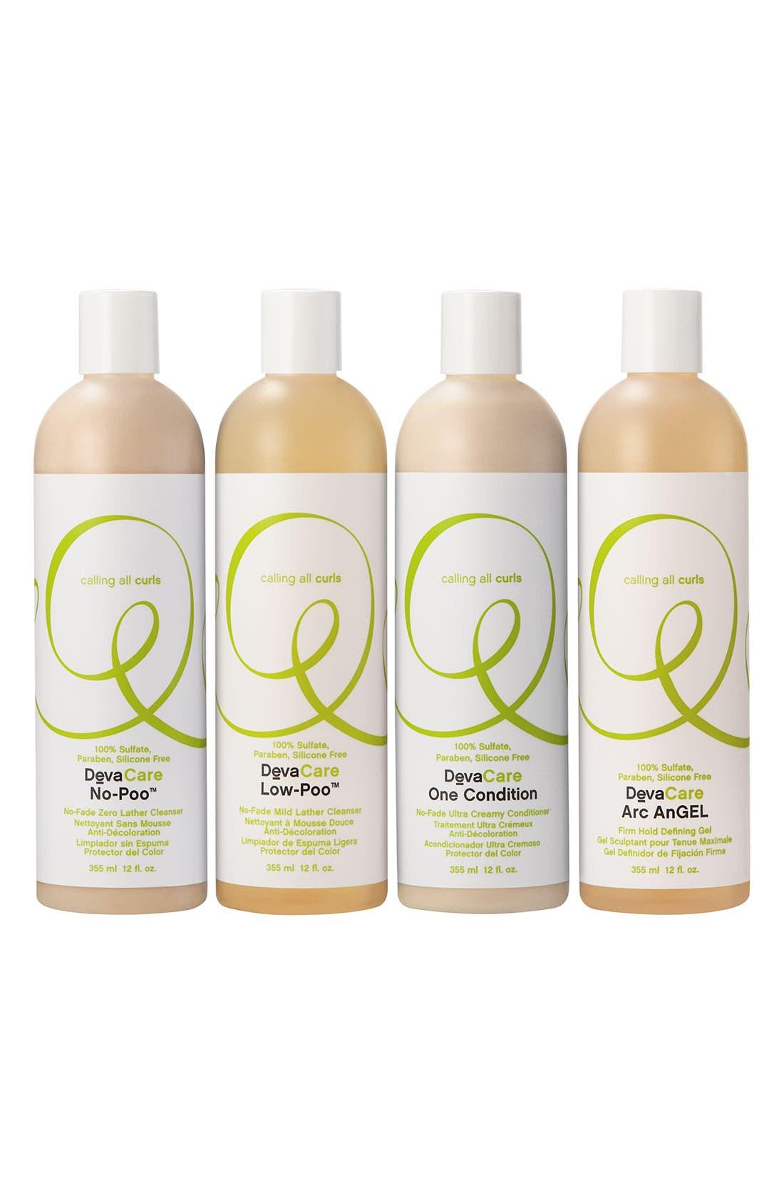 'DevaCare - Low-Poo<sup>™</sup>' No-Fade Mild Lather Shampoo,                             Main thumbnail 1, color,                             000