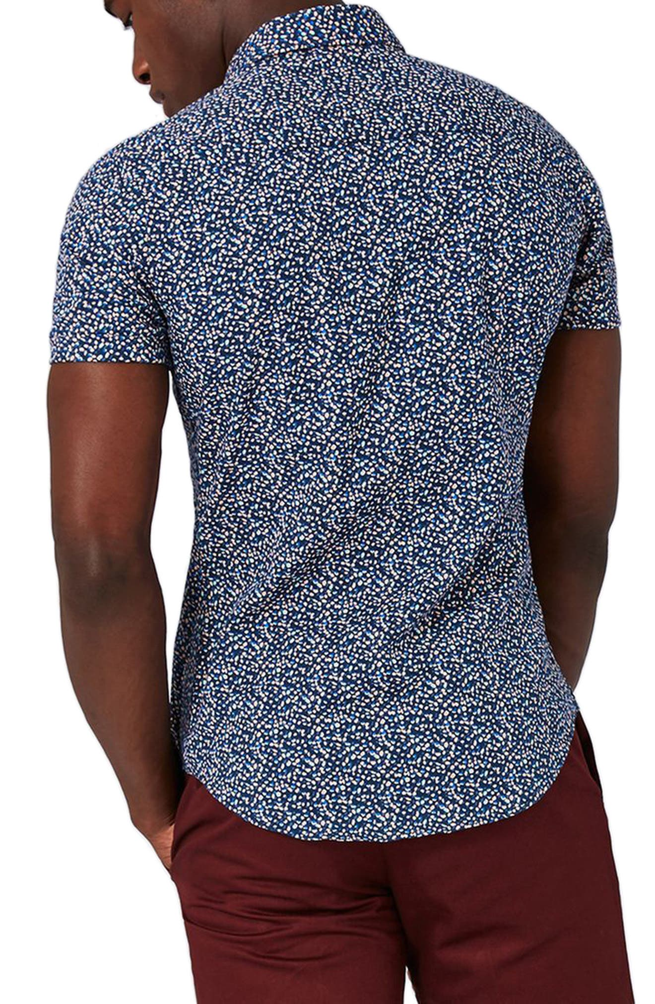 Blotch Print Shirt,                             Alternate thumbnail 2, color,                             410