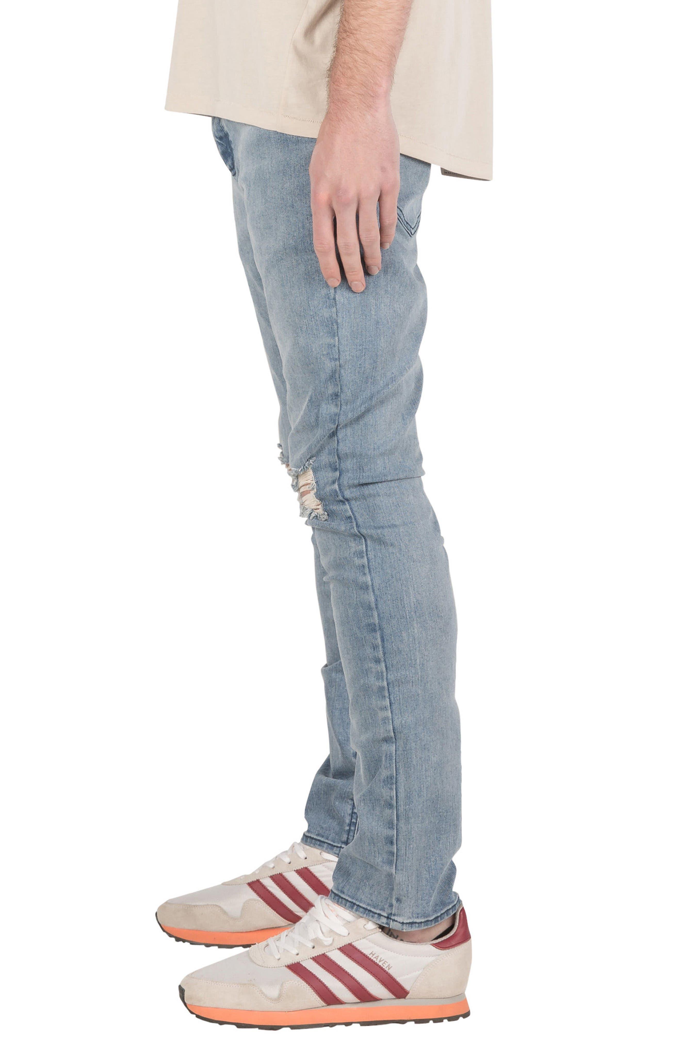 Joe Blow Destroyed Denim Jeans,                             Alternate thumbnail 3, color,                             420