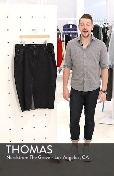Denim Pencil Skirt, sales video thumbnail
