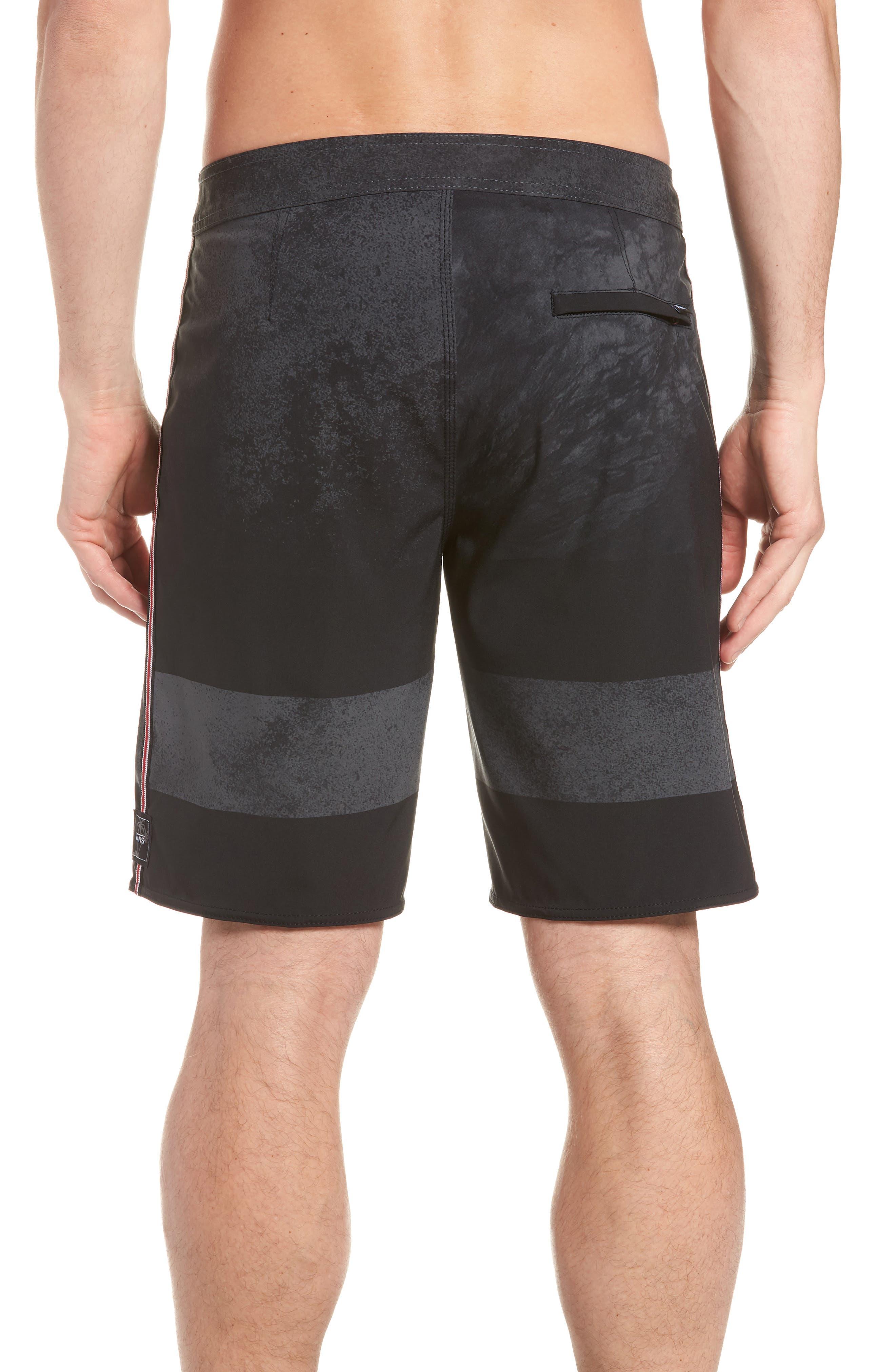 Era Board Shorts,                             Alternate thumbnail 2, color,                             BLACK/ NATHAN FLORENCE