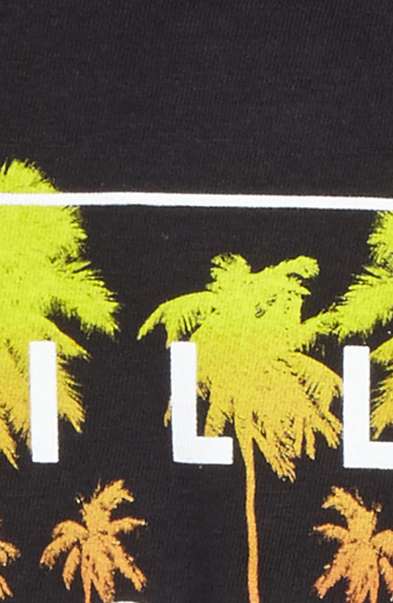 Fill Die Cut T-Shirt,                             Alternate thumbnail 3, color,                             001