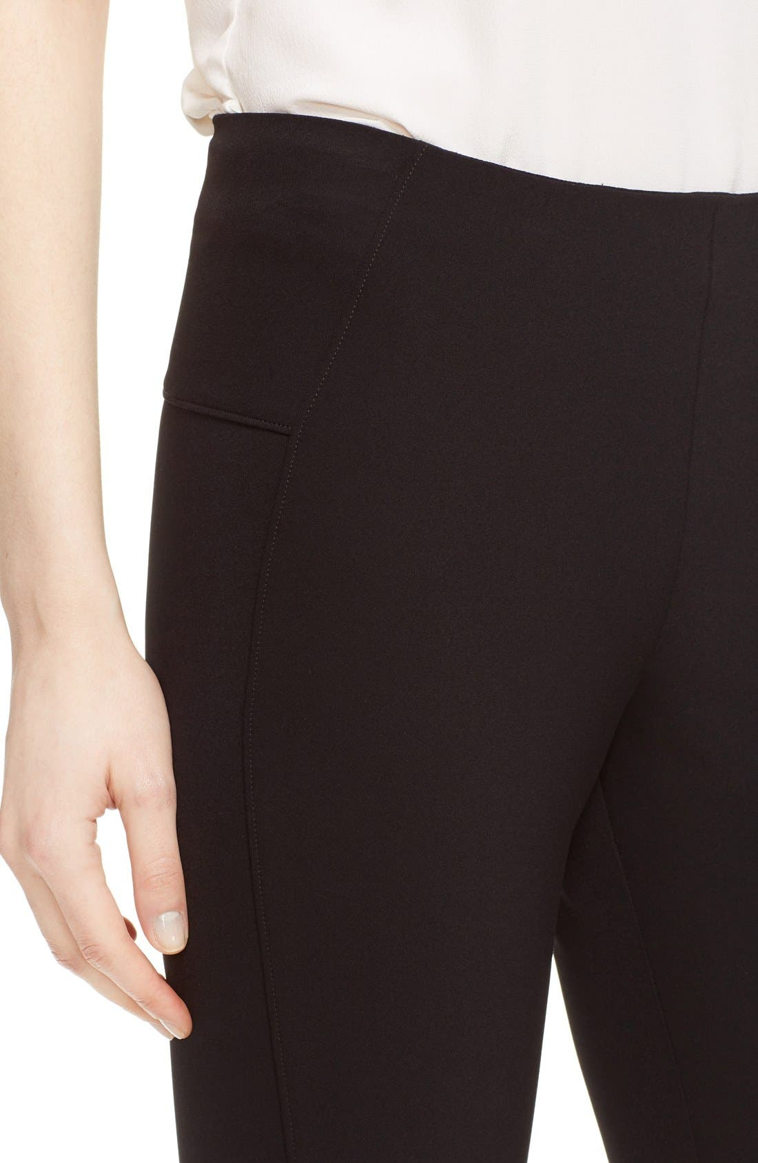 Scuba Pants,                             Alternate thumbnail 7, color,                             BLACK