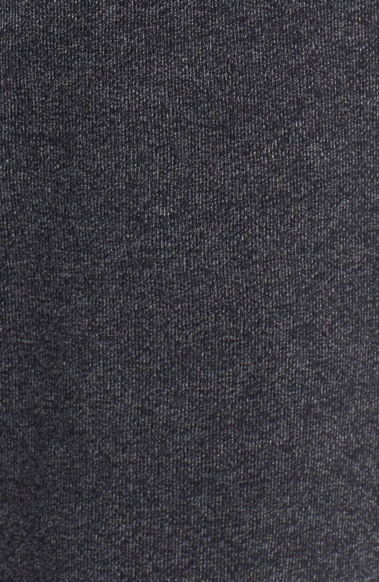 Threadborne Jogger Pants,                             Alternate thumbnail 5, color,                             BLACK/ BLACK