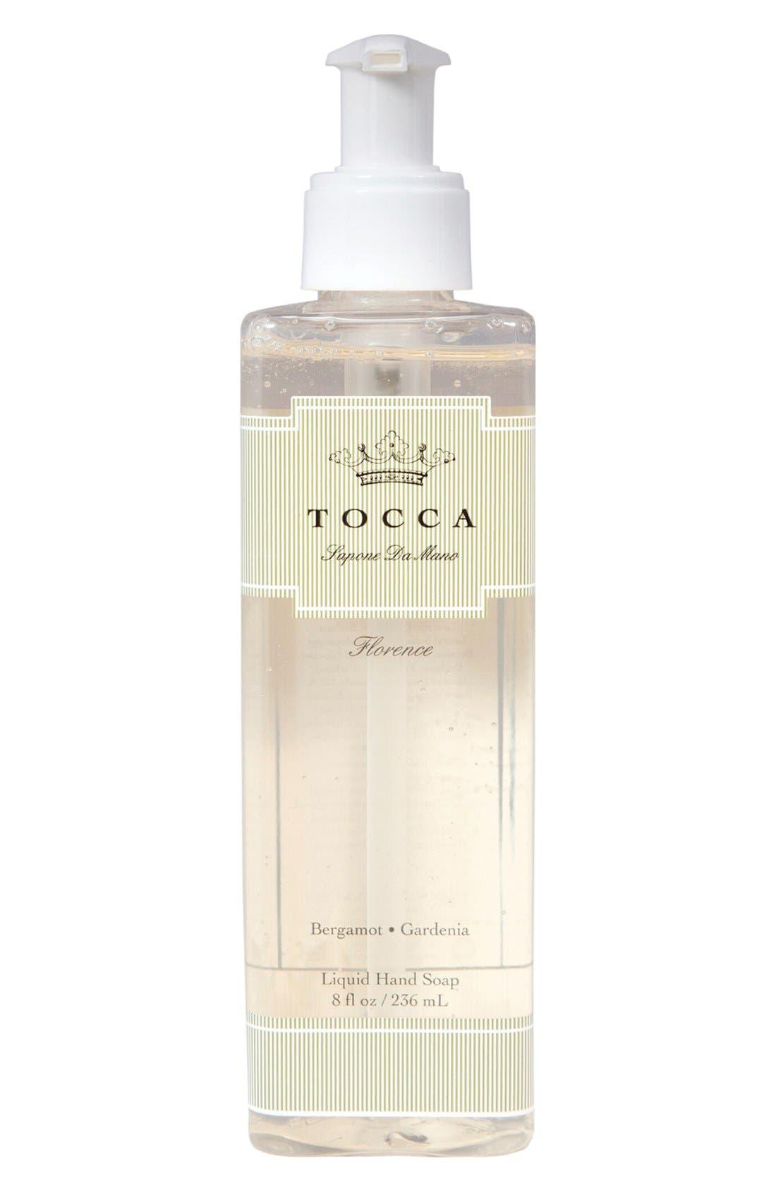 'Florence' Liquid Hand Soap,                             Main thumbnail 1, color,                             000