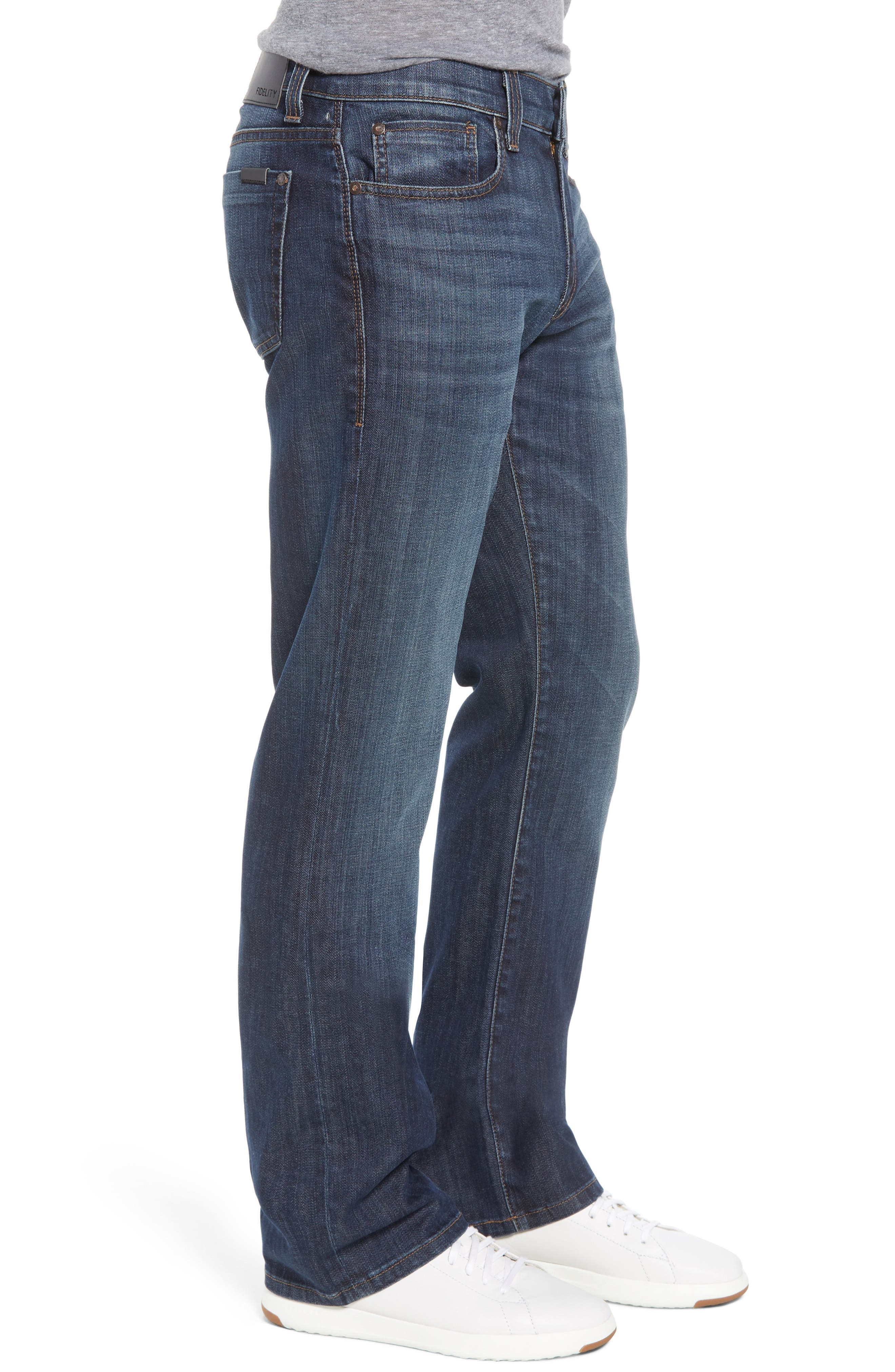 50-11 Relaxed Fit Jeans,                             Alternate thumbnail 3, color,                             400