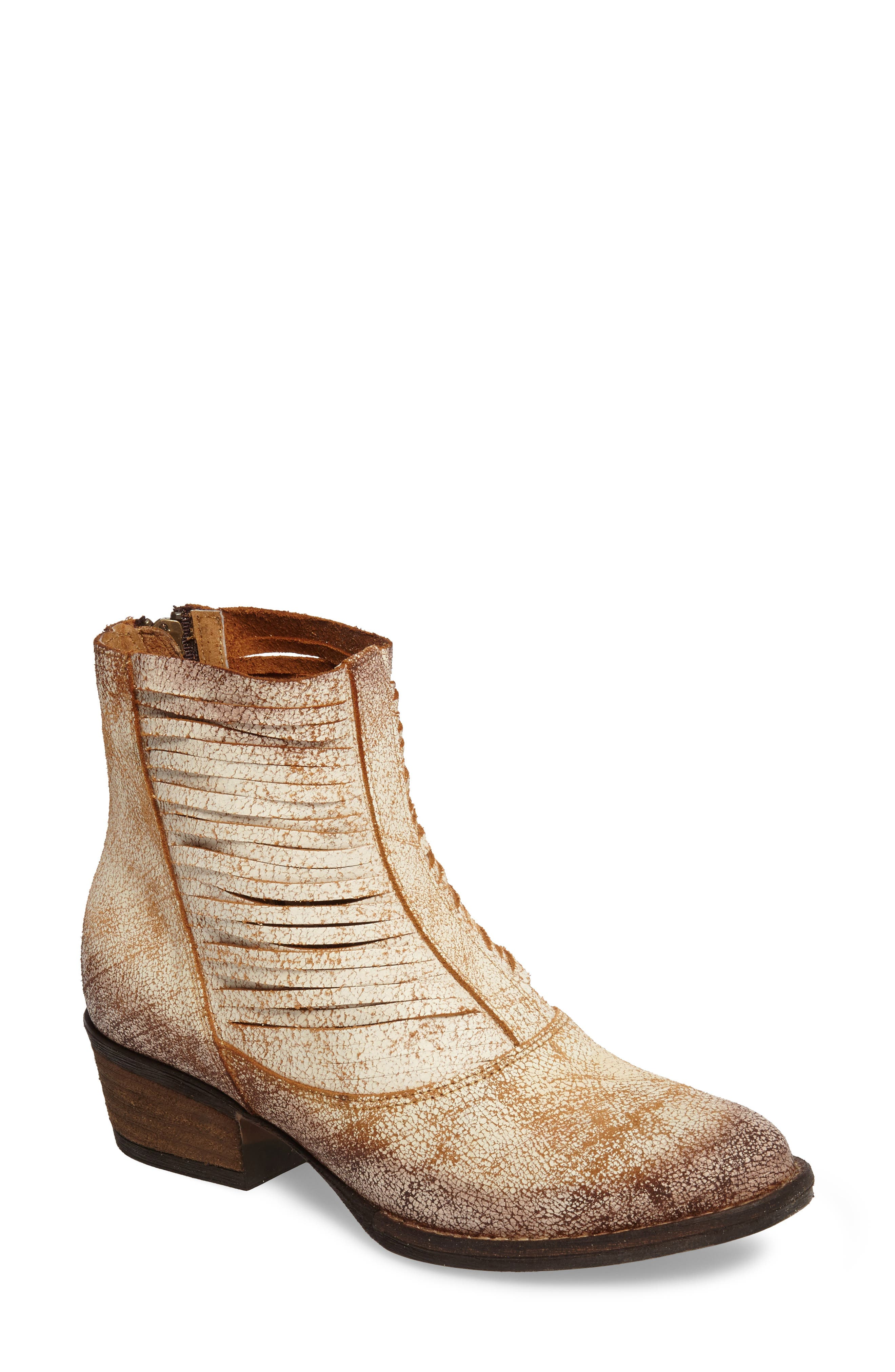 Jeronimo Western Bootie,                             Main thumbnail 1, color,                             100