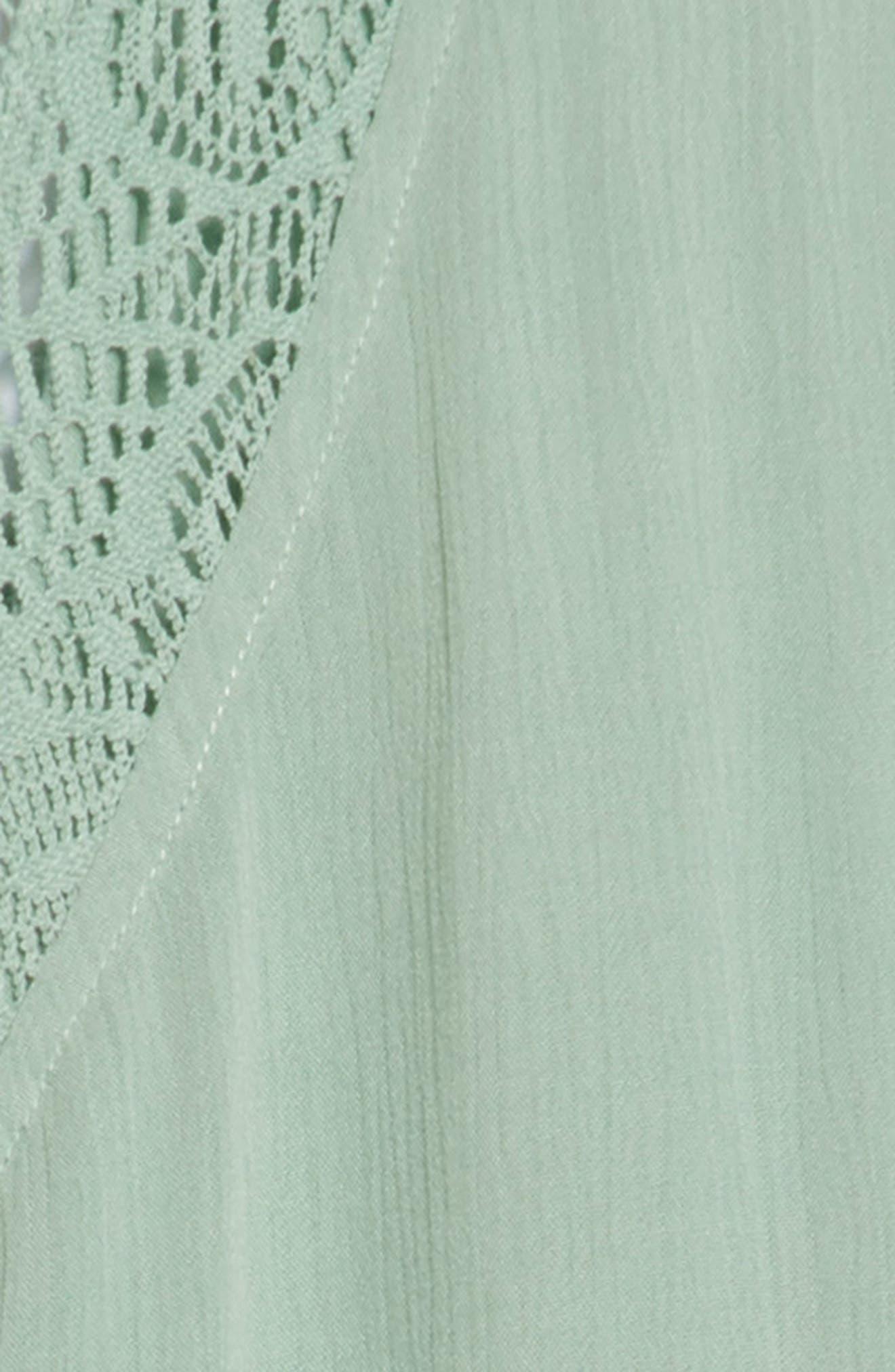 Addilyn Crochet Cover-Up Dress,                             Alternate thumbnail 5, color,