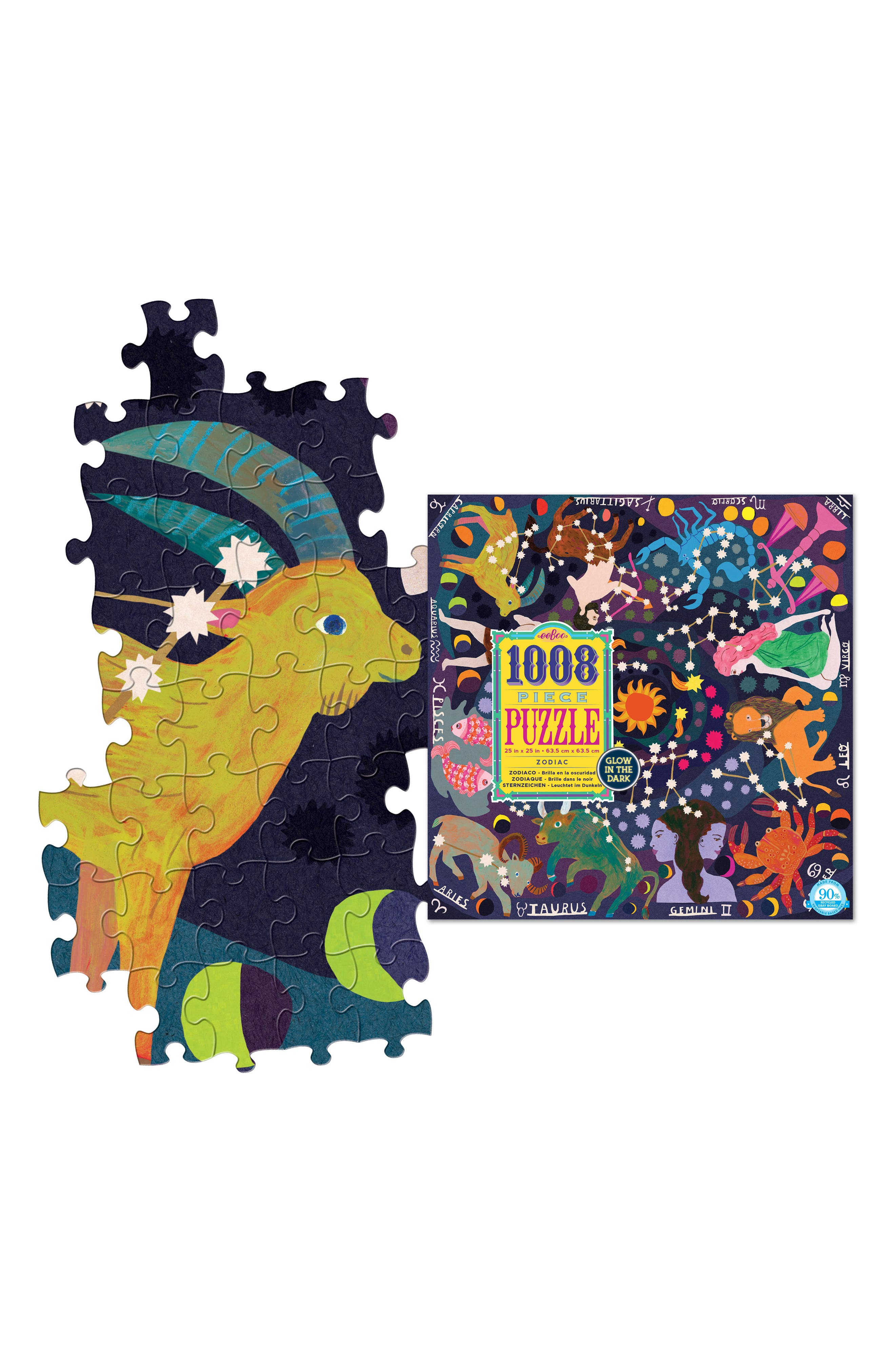 Zodiac 1000-Piece Puzzle,                             Alternate thumbnail 3, color,                             500