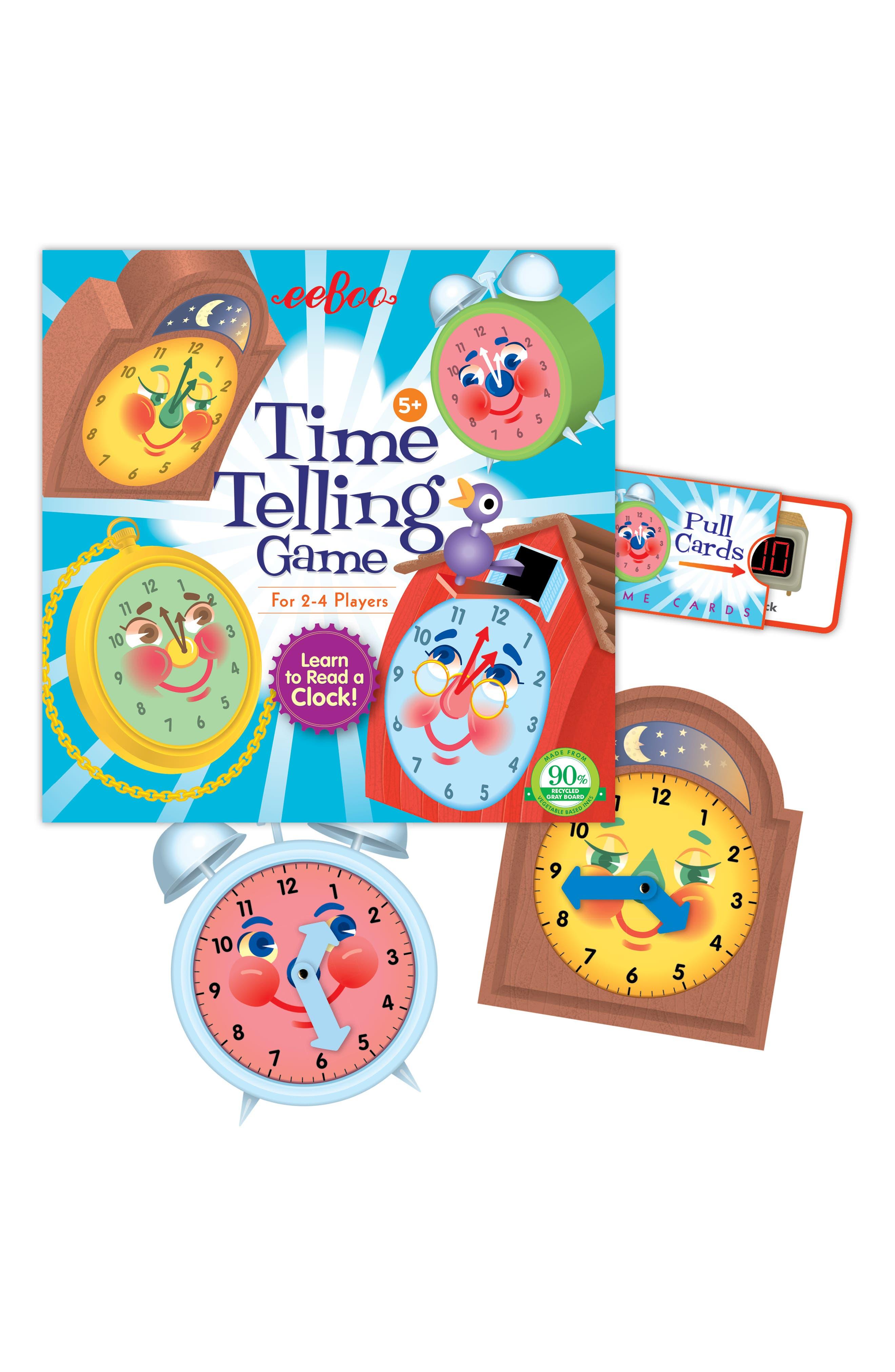 Time Telling Game,                             Alternate thumbnail 2, color,                             400