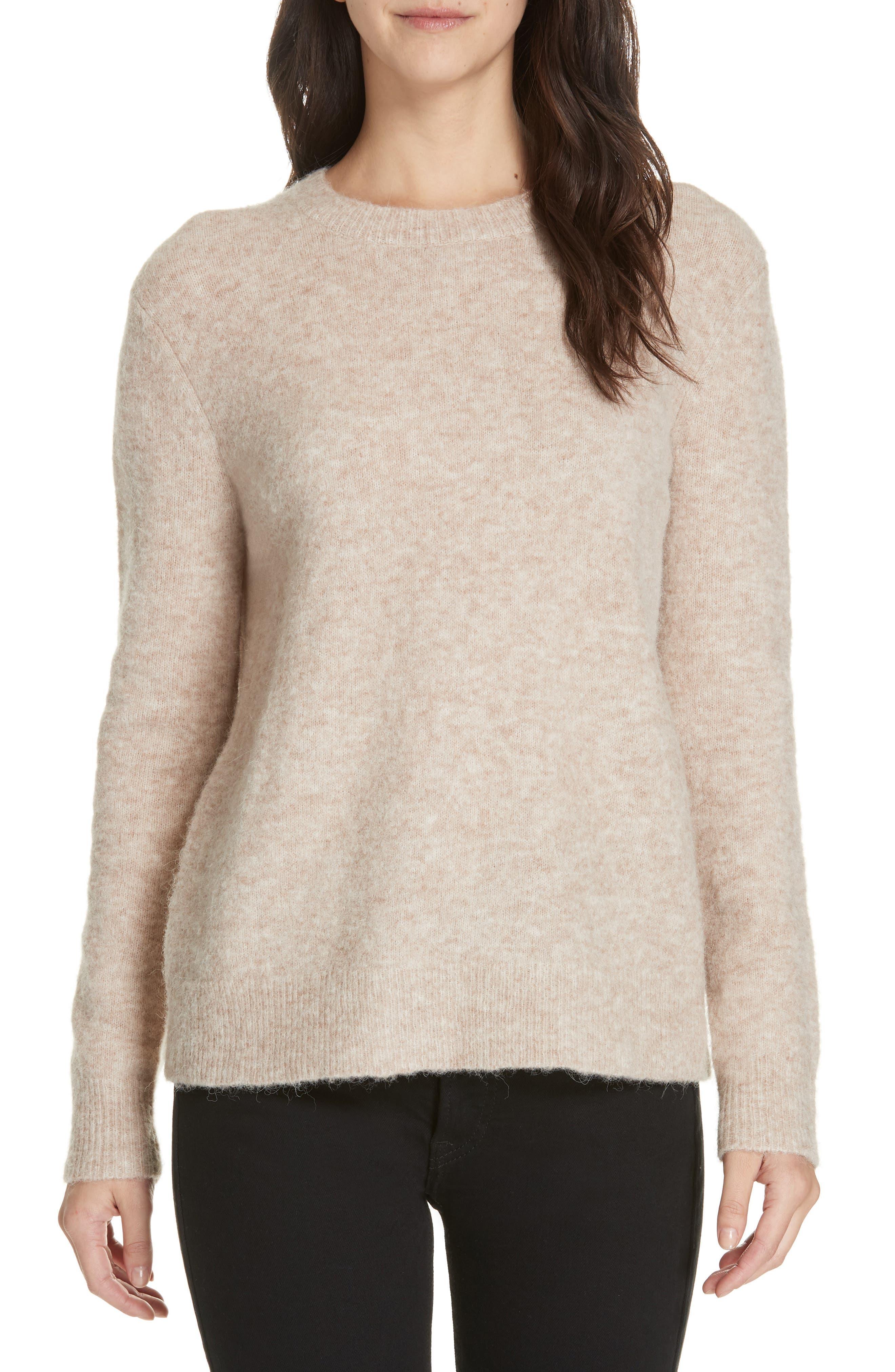 JENNI KAYNE Crewneck Sweater in Oatmeal