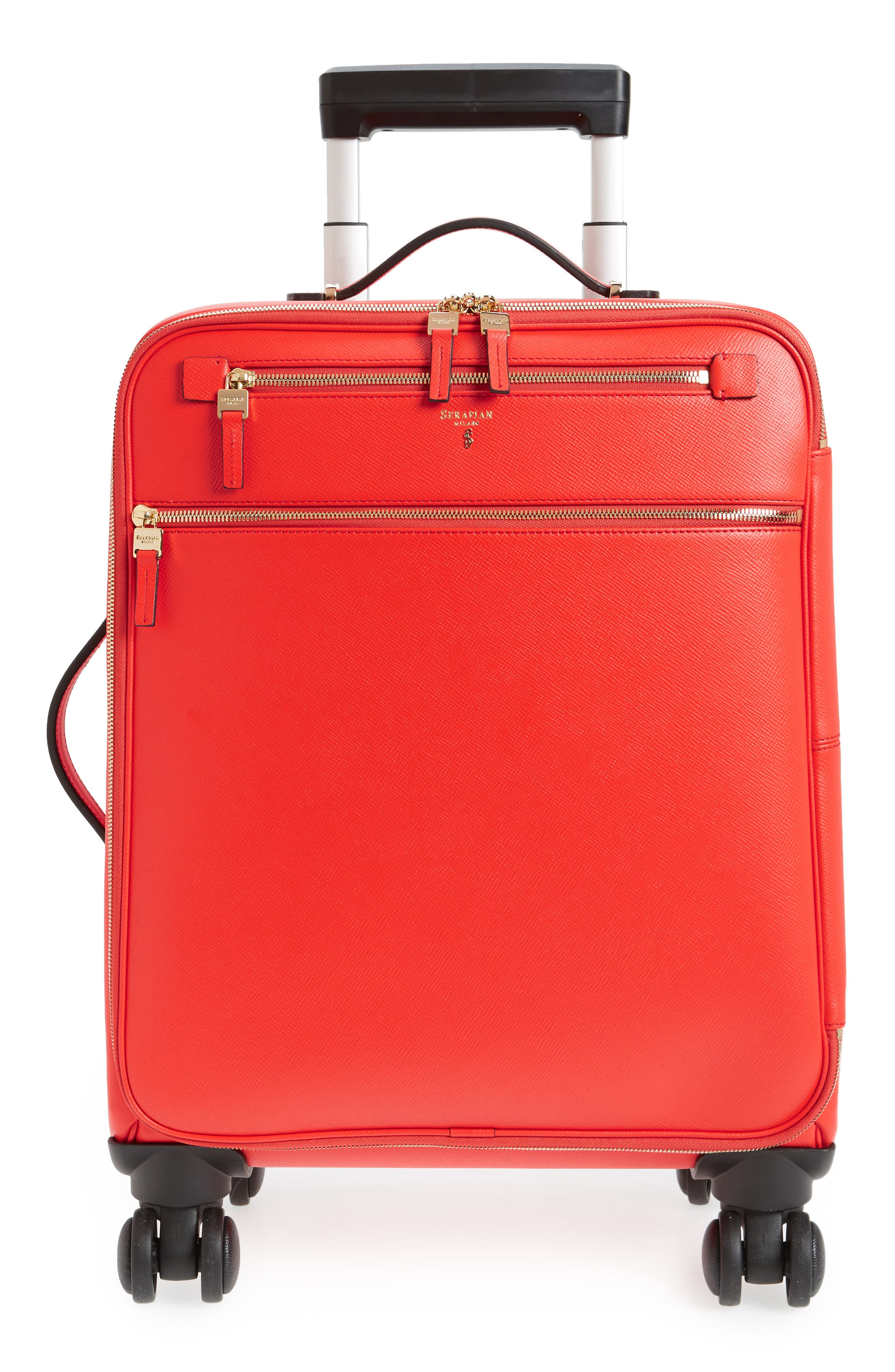 Trolley Spinner Wheeled Carry-On Suitcase,                             Main thumbnail 4, color,