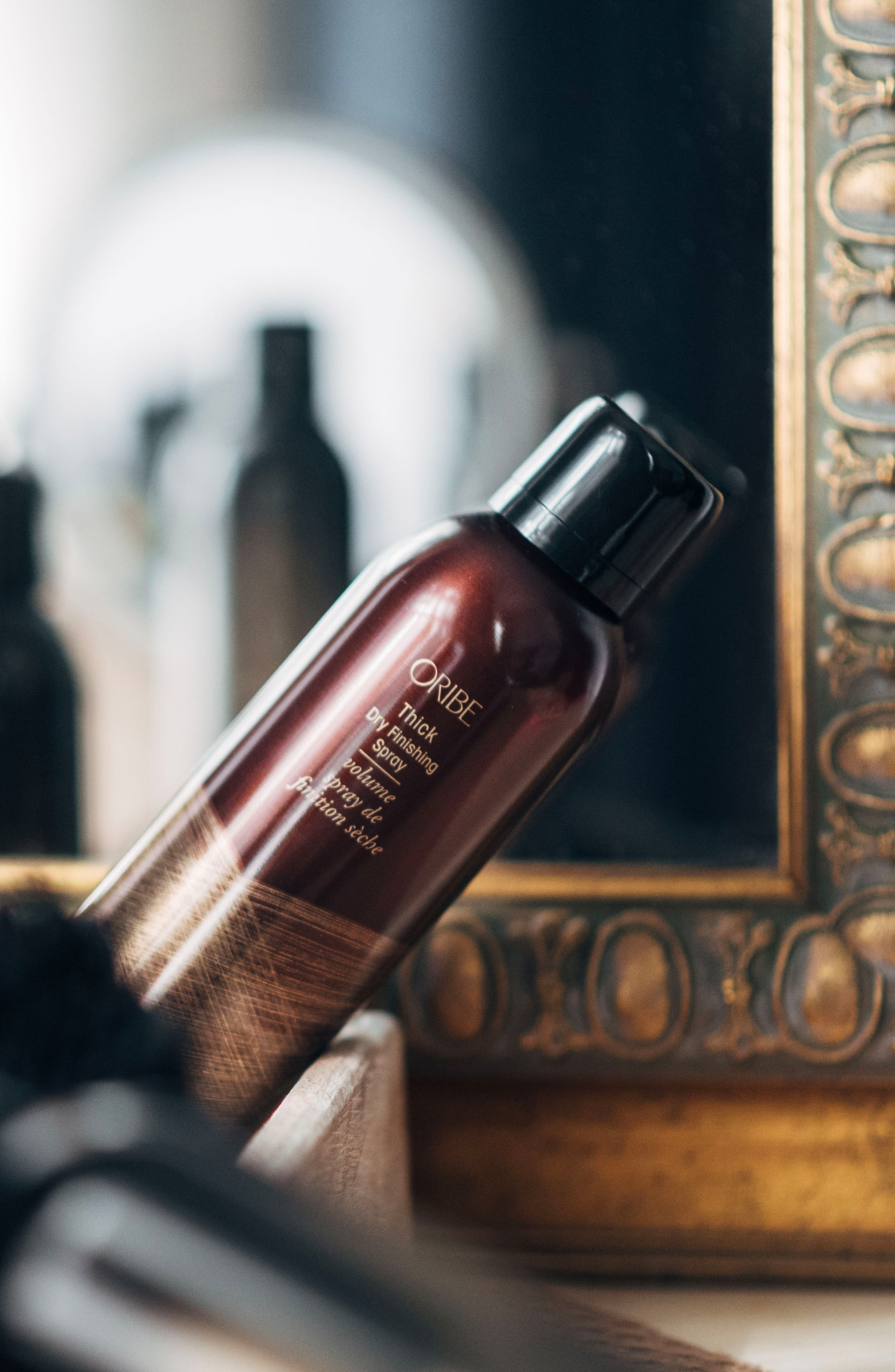 SPACE.NK.apothecary Oribe Thick Dry Finishing Spray,                             Alternate thumbnail 9, color,                             NO COLOR