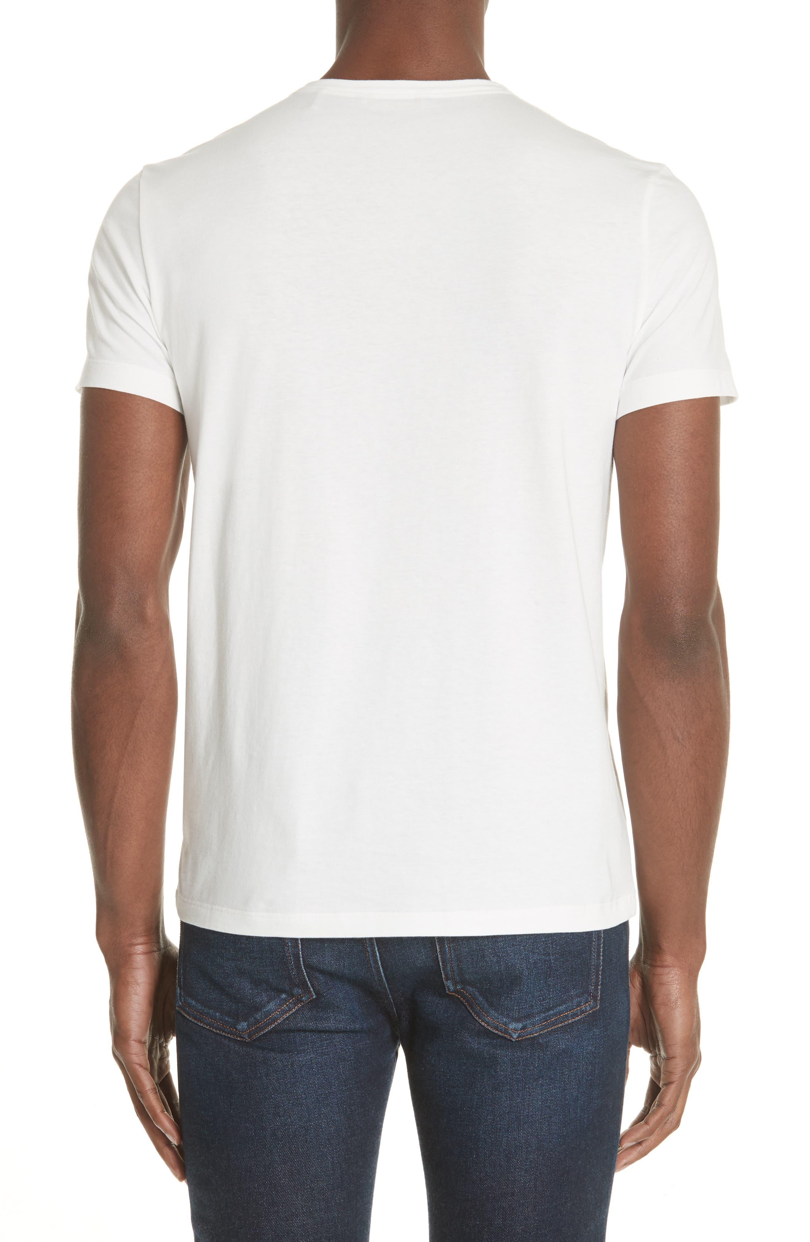 Chevron Stripe Print T-Shirt,                             Alternate thumbnail 2, color,                             NATURAL
